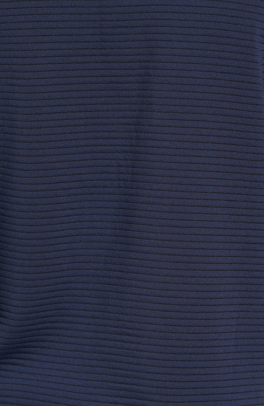 Stripe Pullover,                             Alternate thumbnail 5, color,                             Dark Blue Royal