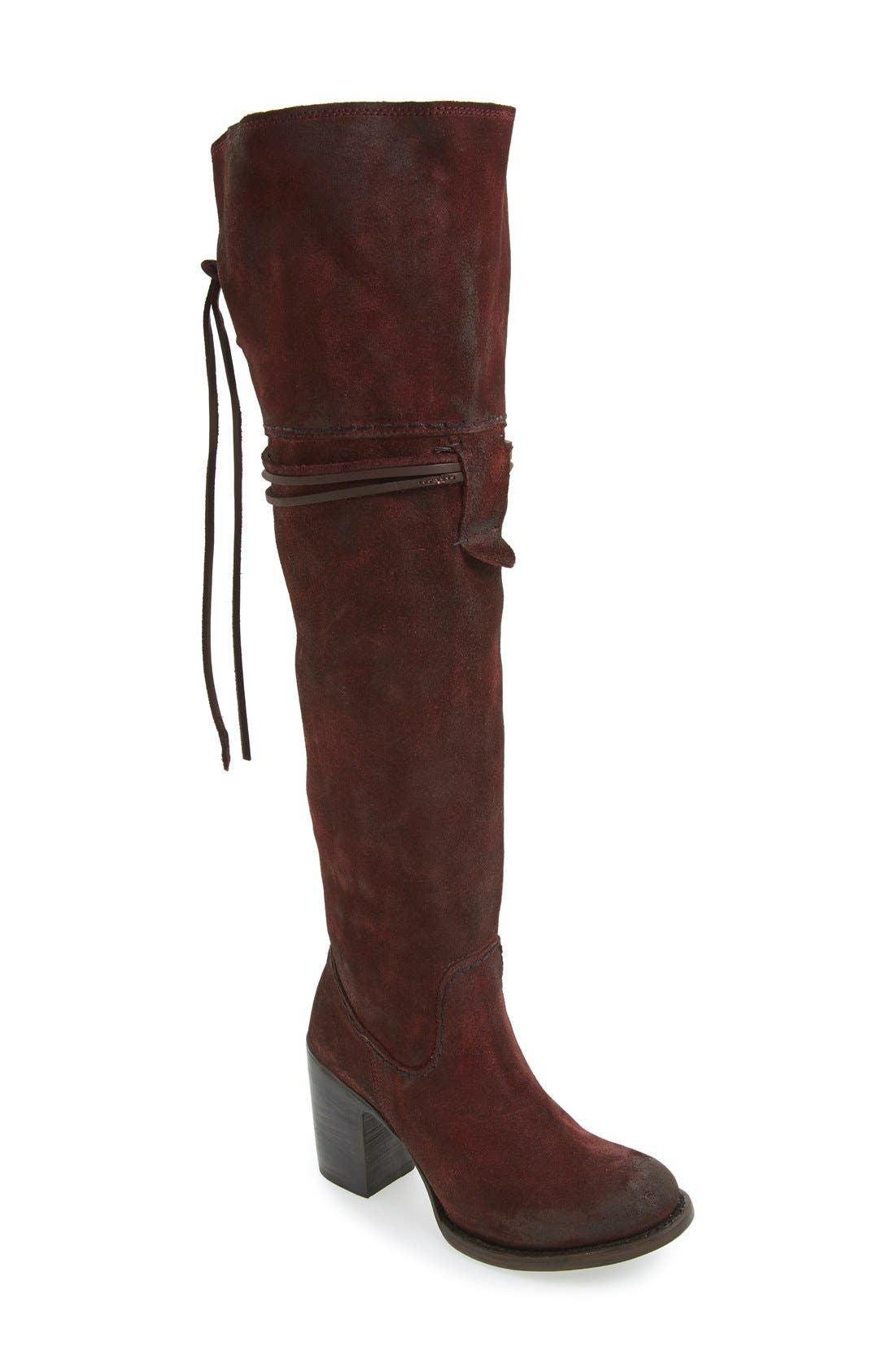 Main Image - Freebird by Steven Brock Over the Knee Boot (Women)