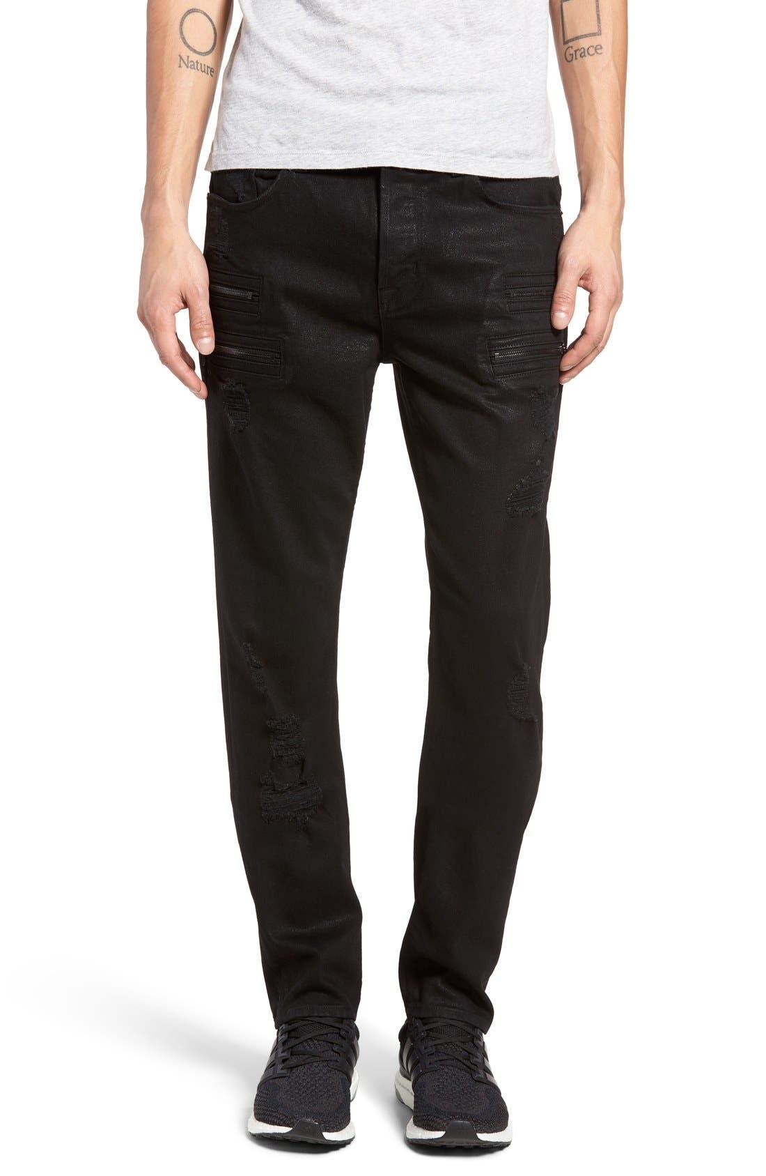 Main Image - Hudson Jeans Broderick Skinny Fit Jeans (Untamed)