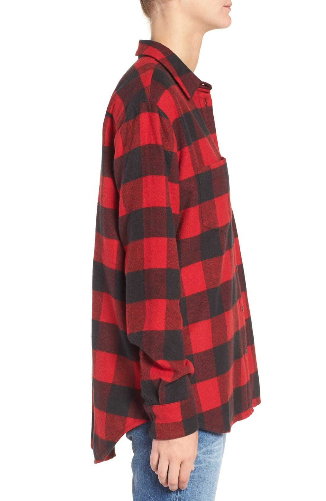 Alternate Image 3  - Madewell Ex-Boyfriend Oversize Boyfriend Shirt