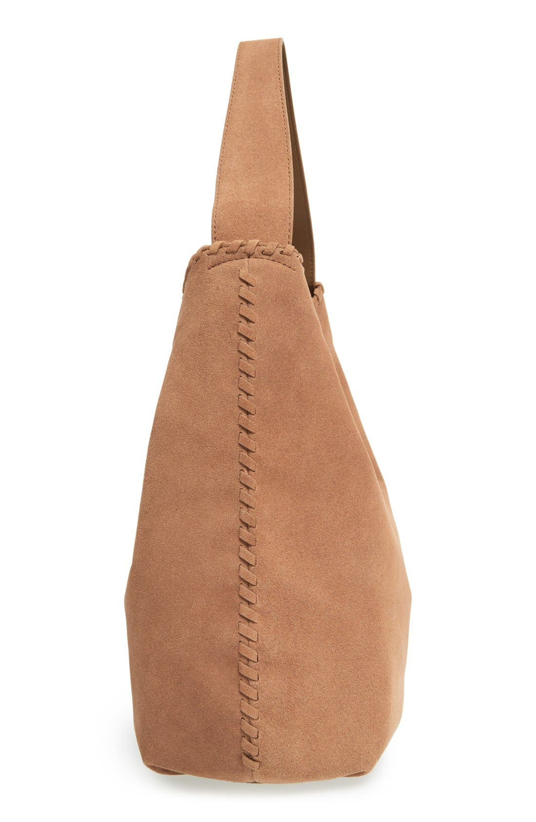 Alternate Image 5  - Tory Burch 'Marion' Suede Hobo
