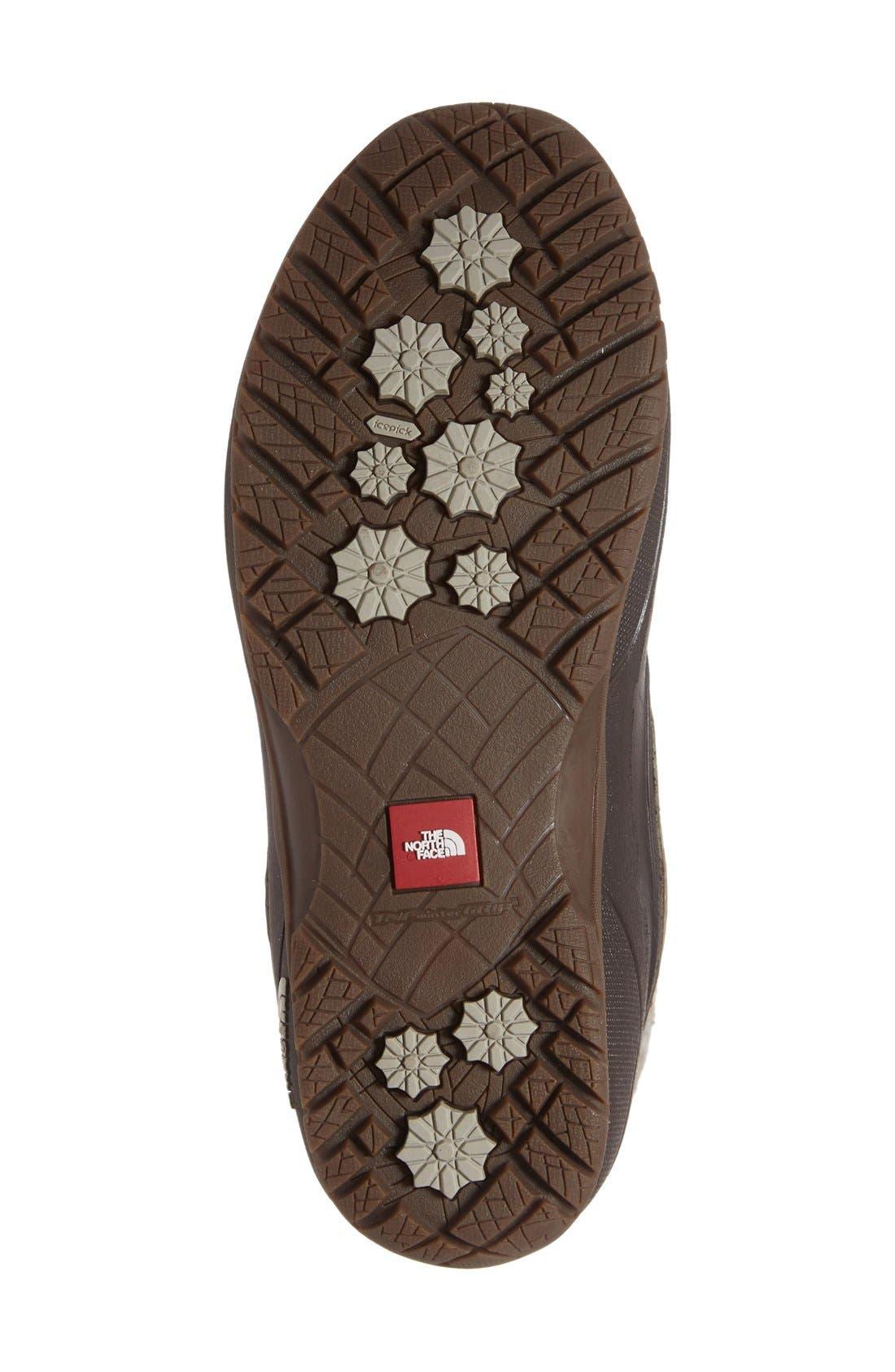 Shellista Waterproof Insulated Snow Boot,                             Alternate thumbnail 4, color,                             Split Rock Brown/ Dove Grey