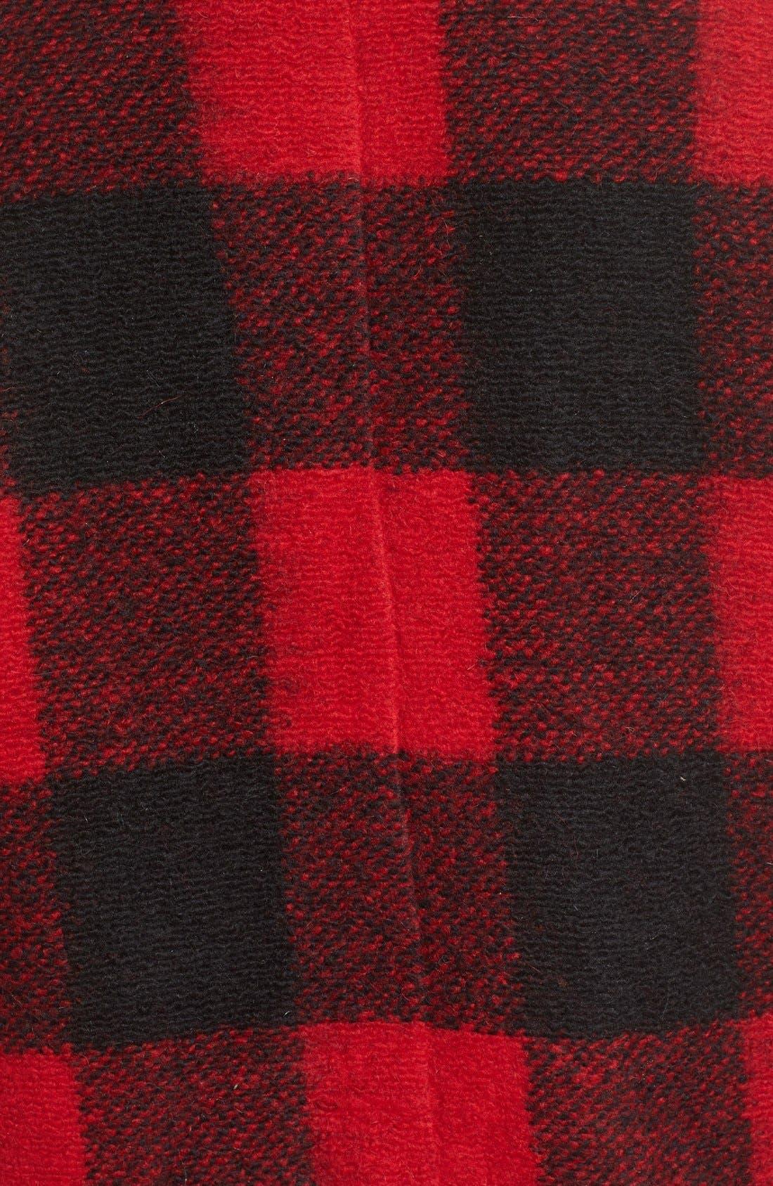 Alternate Image 5  - BB Dakota Holton Plaid Shawl Collar Coat