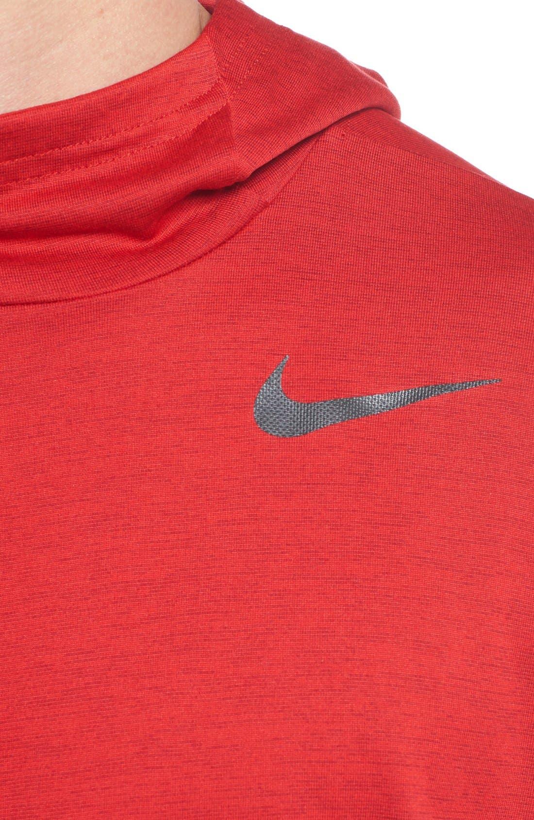 Alternate Image 4  - Nike Dri-FIT Training Hoodie