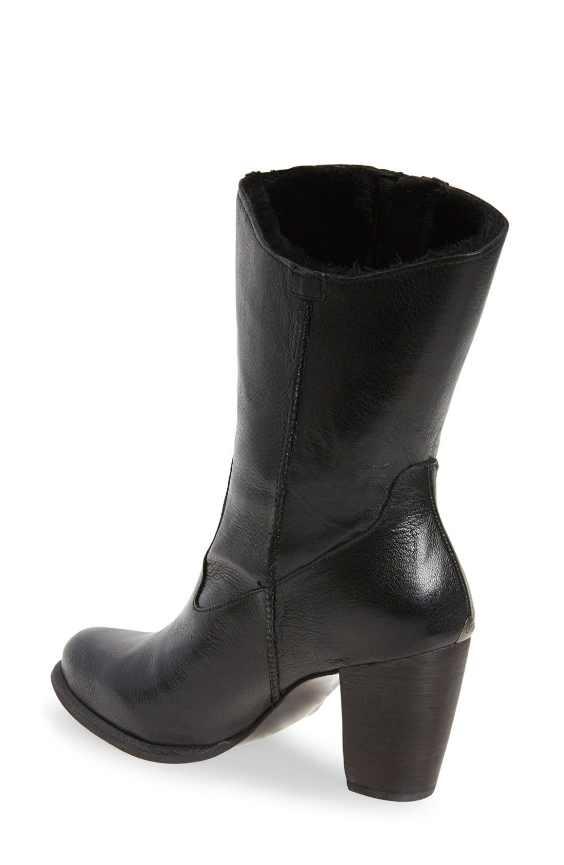 Alternate Image 2  - UGG® 'Lynda' Block Heel Boot (Women)