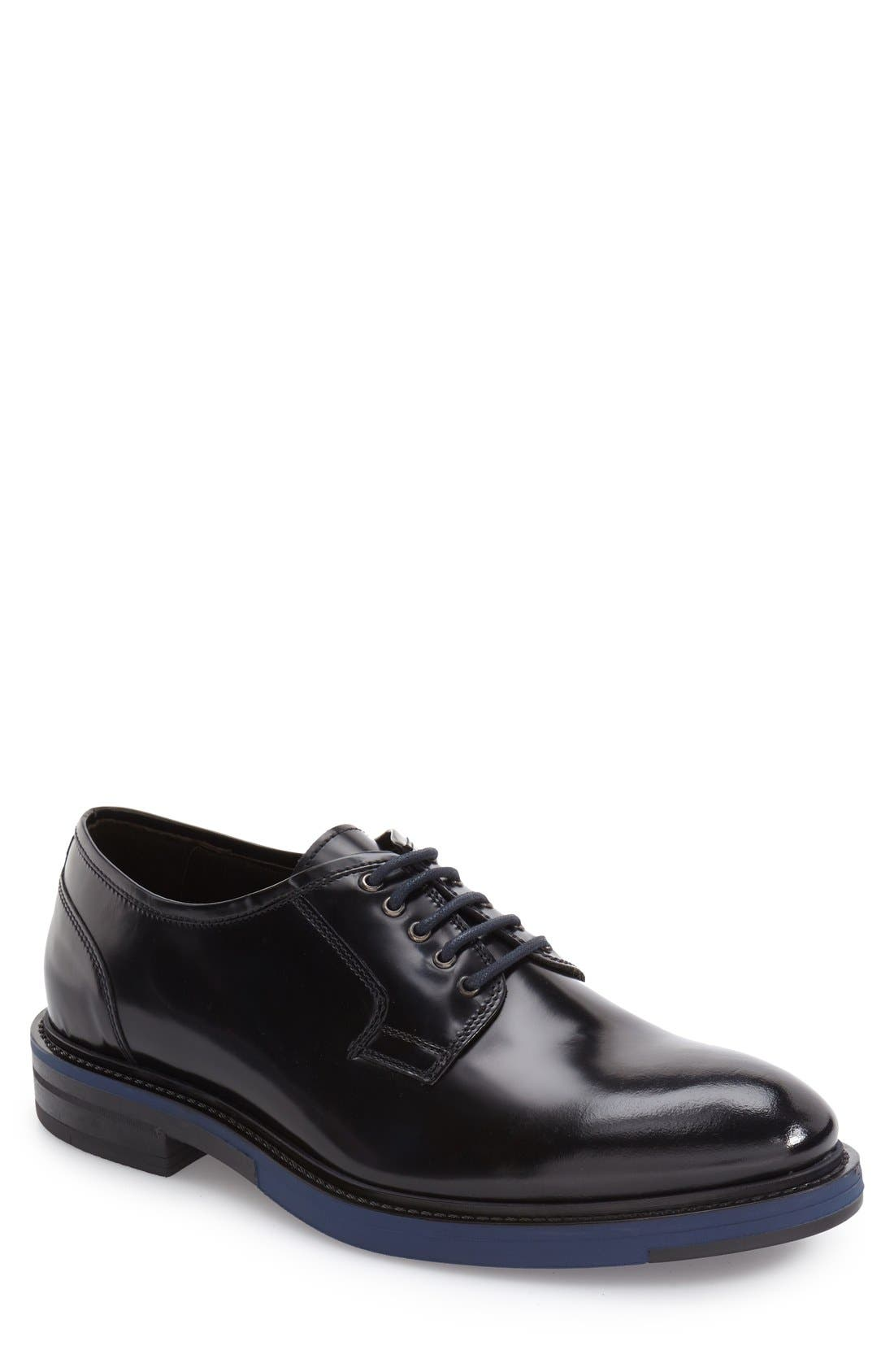 Main Image - Kenneth Cole New York Hi Five Plain Toe Derby (Men)