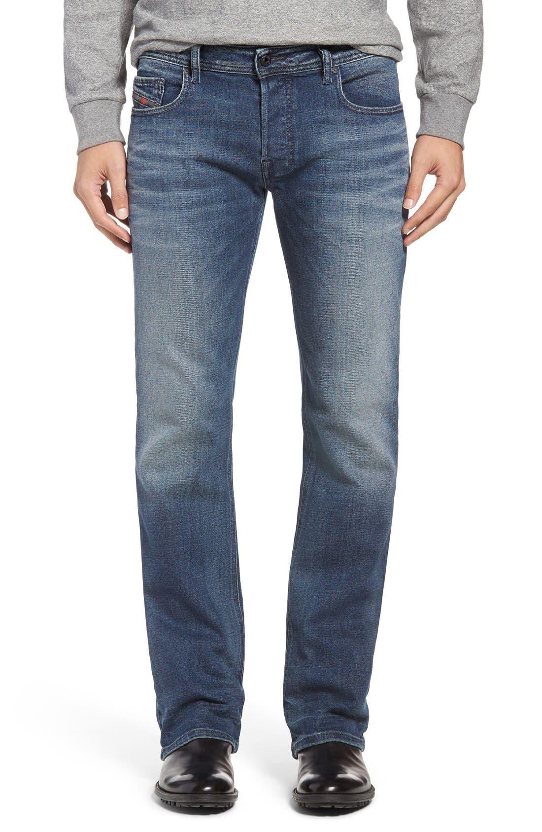 Main Image - DIESEL® Zatiny Bootcut Jeans (857N)