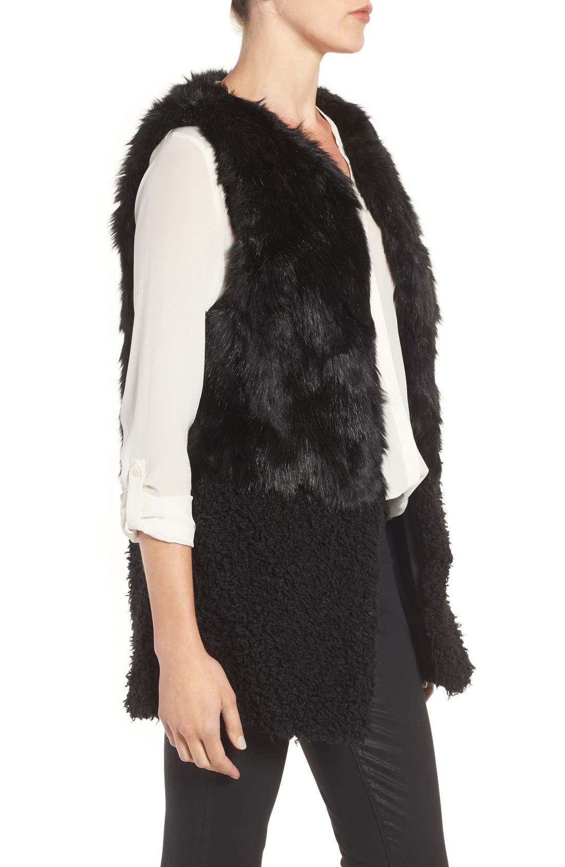 Alternate Image 3  - Hinge Faux Fur Vest