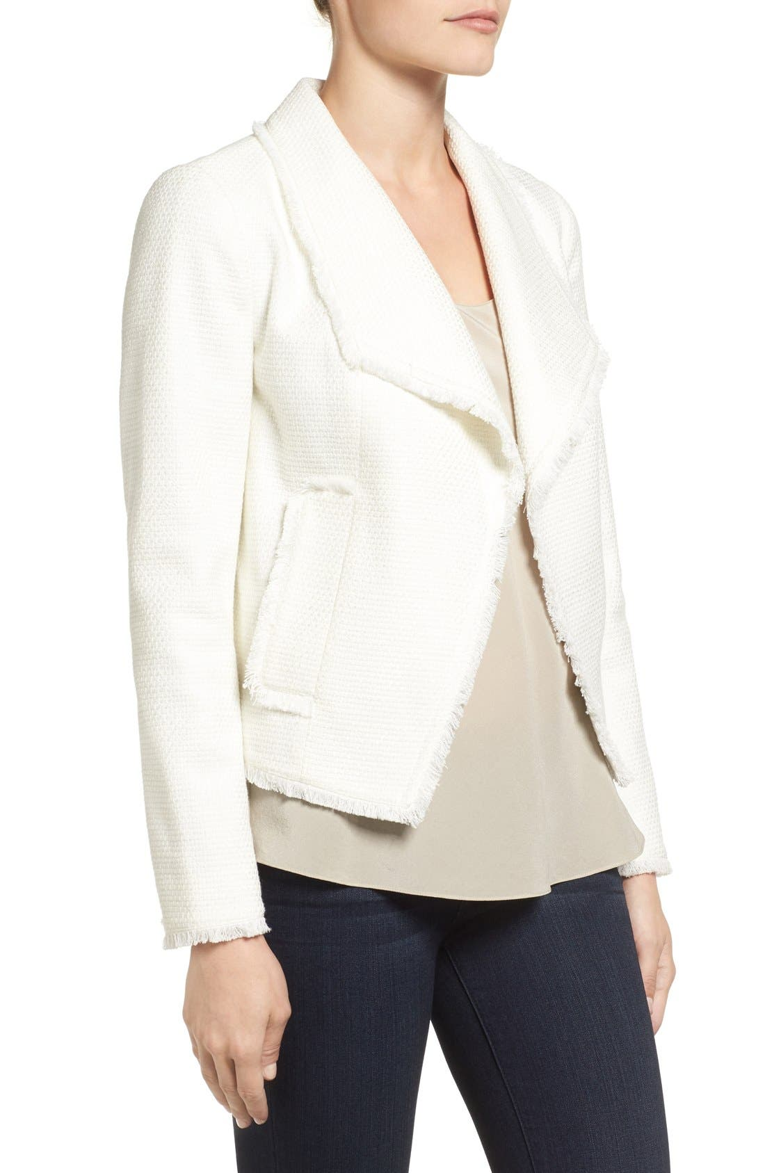 Alternate Image 3  - MICHAEL Michael Kors Tweed Jacket