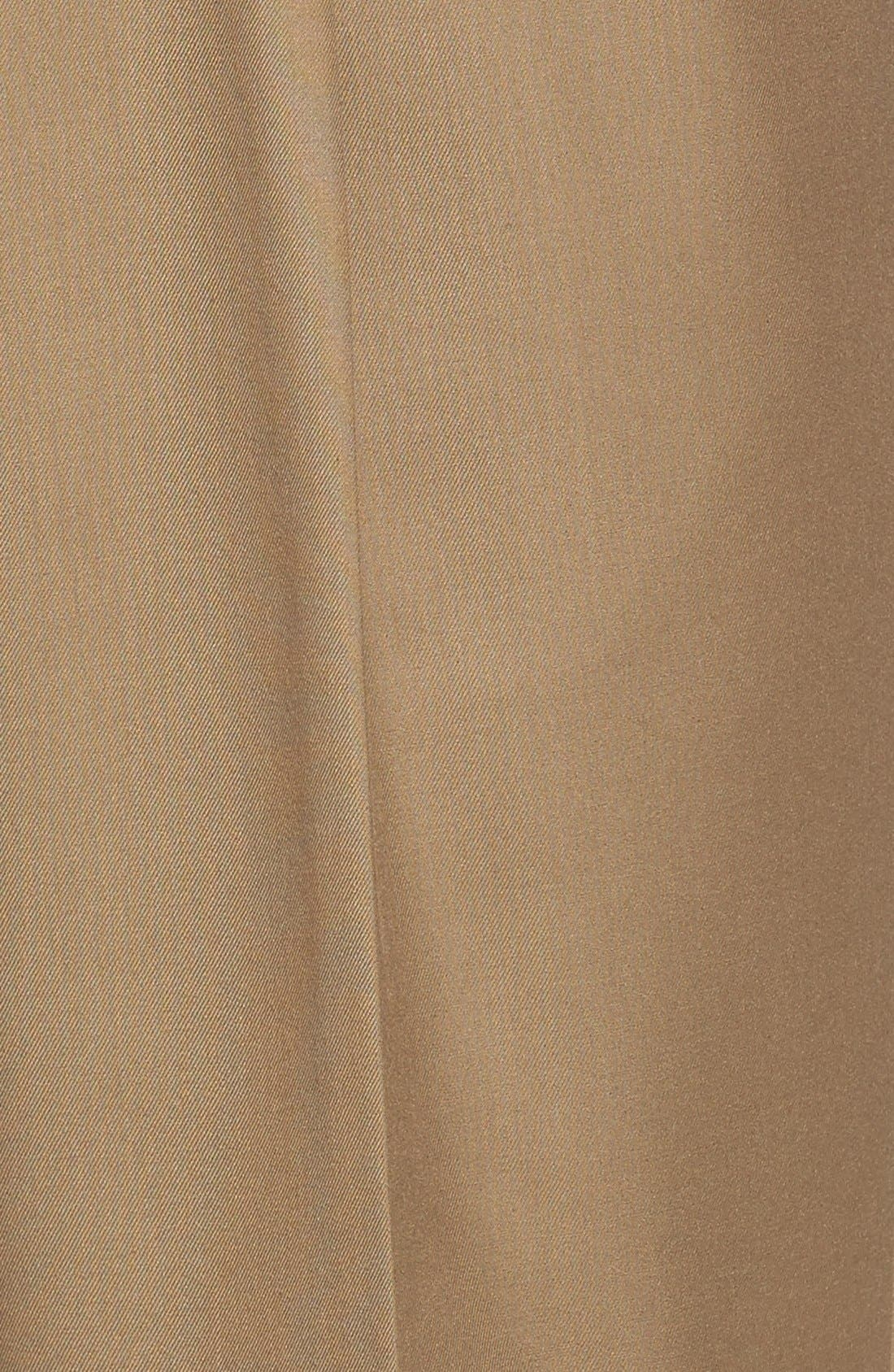 Alternate Image 5  - Linea Naturale Pleated Microfiber Dress Pants