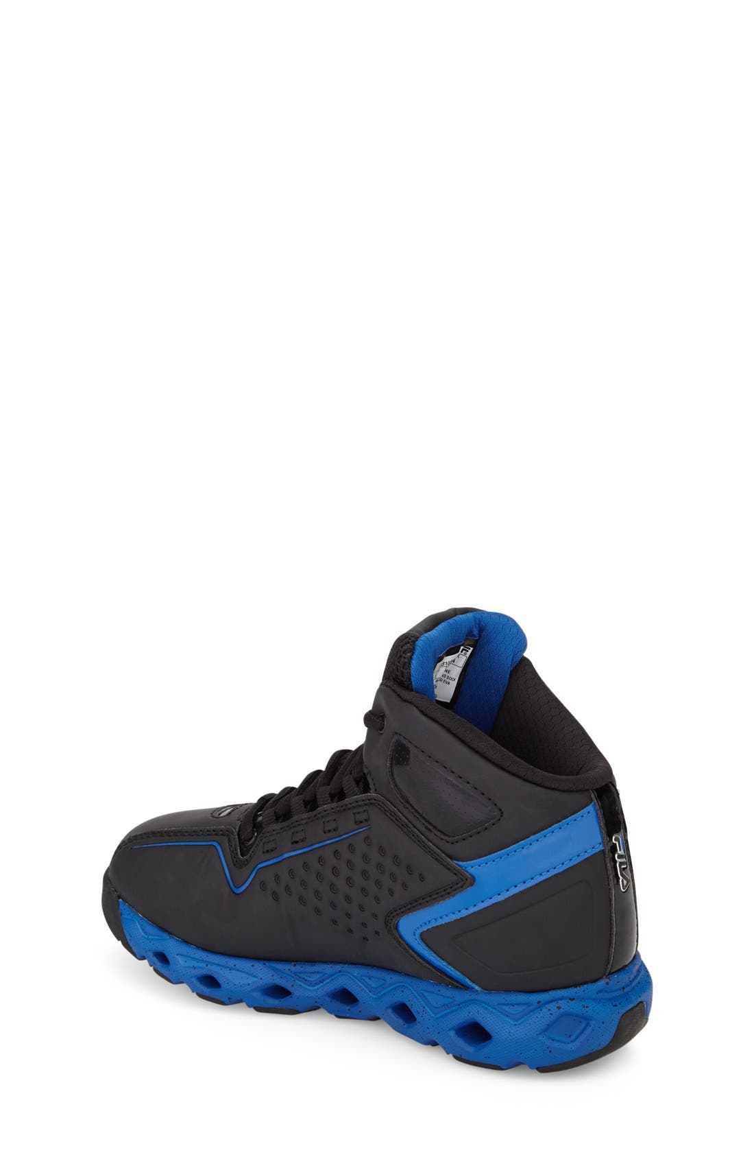 Big Bang High Top Sneaker,                             Alternate thumbnail 2, color,                             Black/ Prince Blue