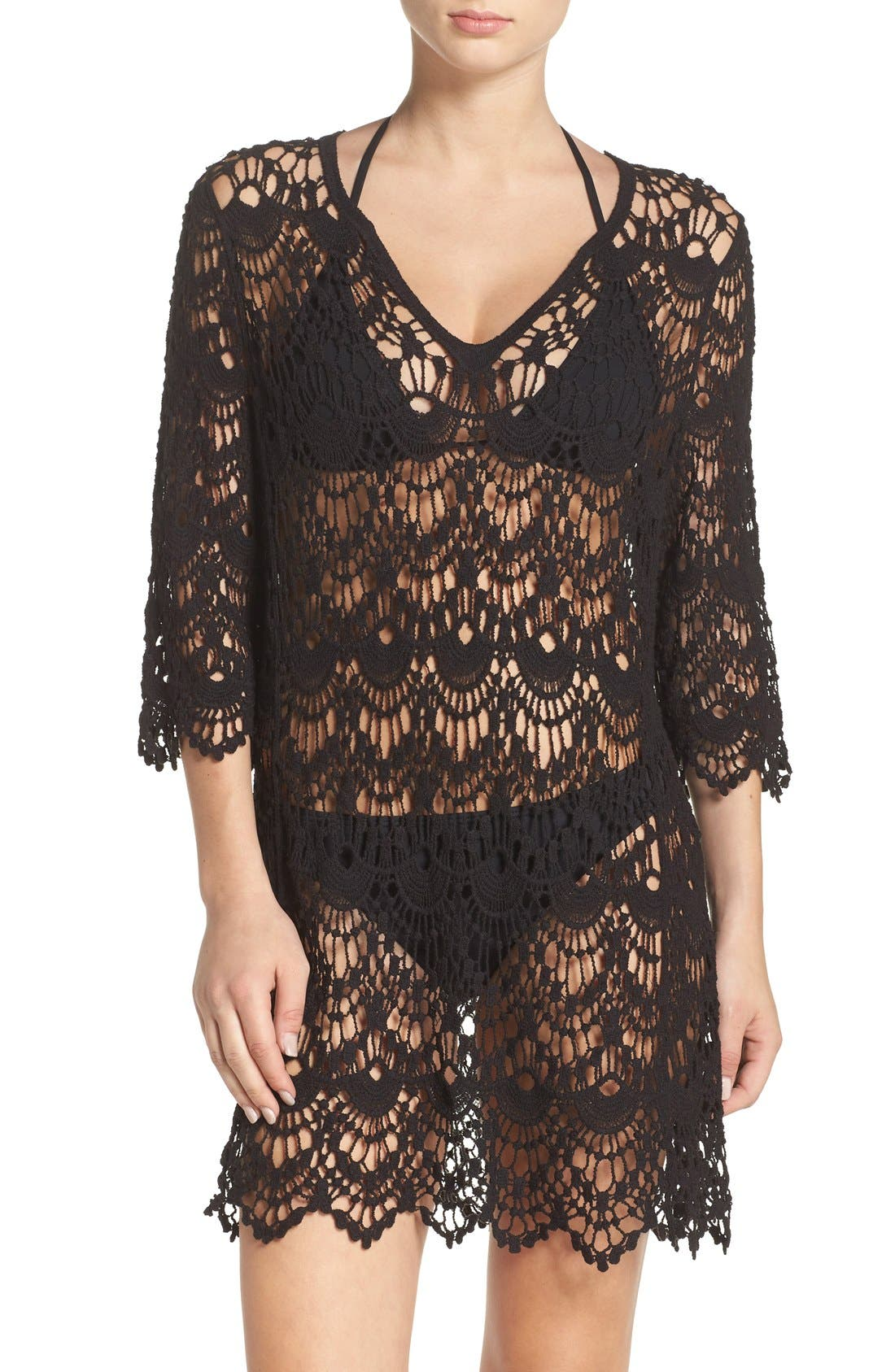 Surf Gypsy Crochet Cover-Up Tunic