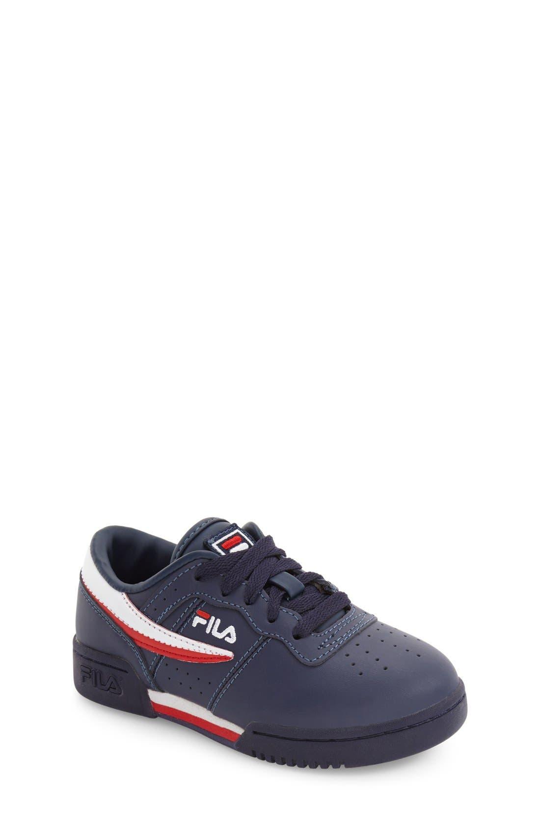 Alternate Image 1 Selected - FILA Original Sneaker (Toddler, Little Kid & Big Kid)