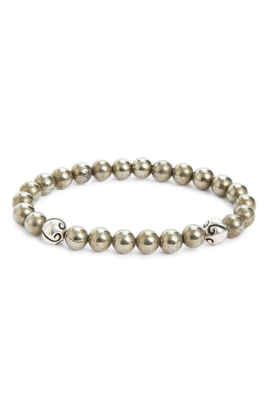 LINK UP Pyrite Bead Bracelet
