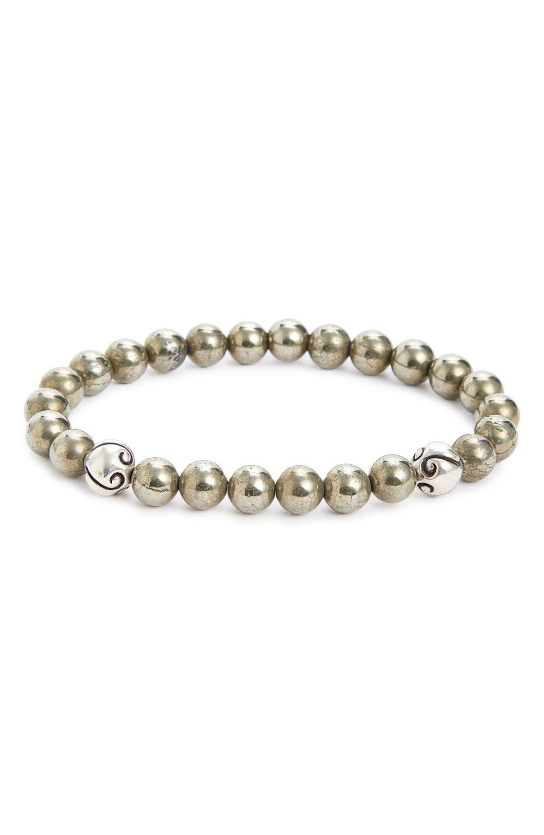 LINK UP Pyrite Bead Bracelet