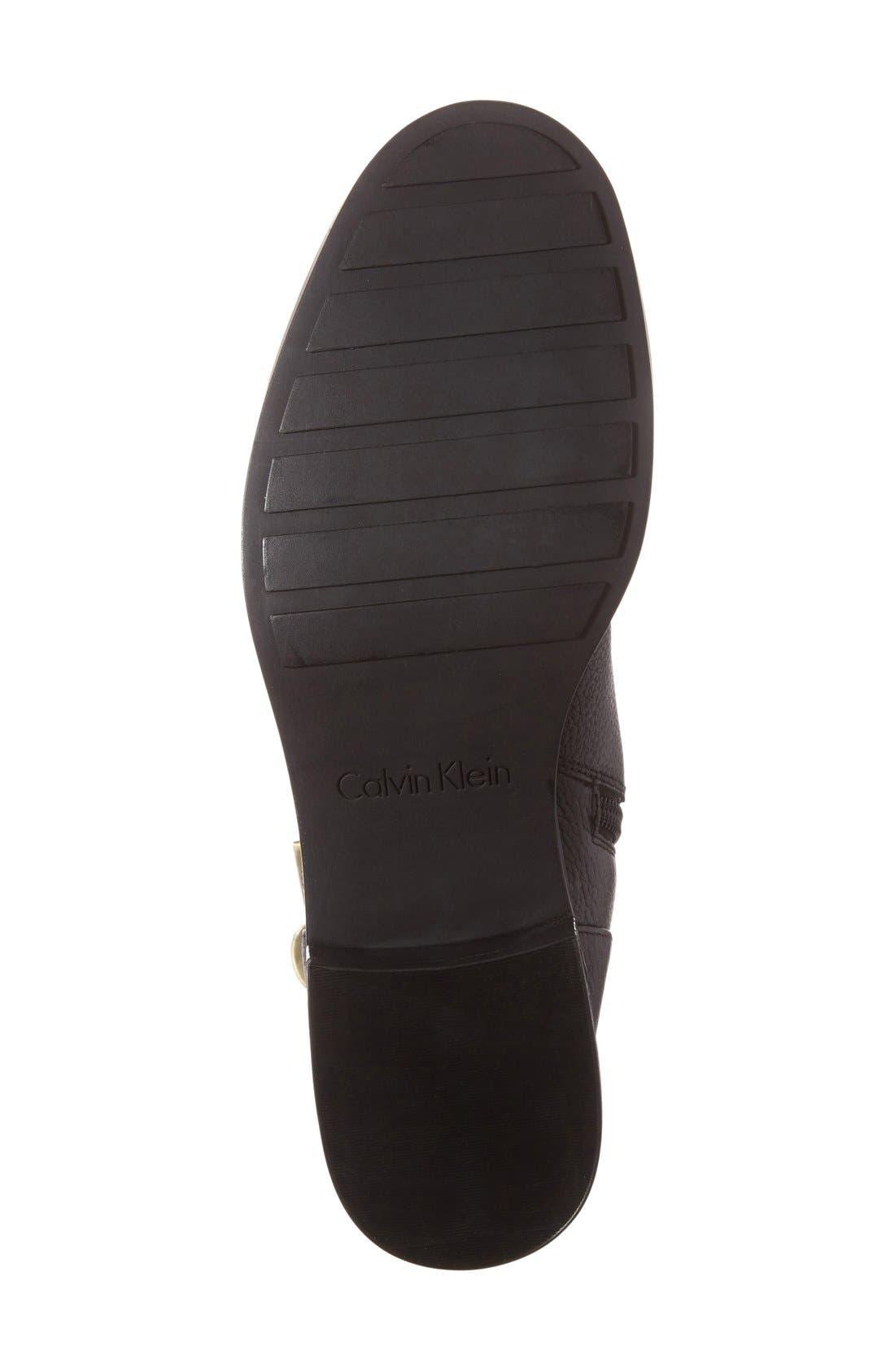 Alternate Image 4  - Calvin Klein Skyla Buckle Strap Bootie (Women)
