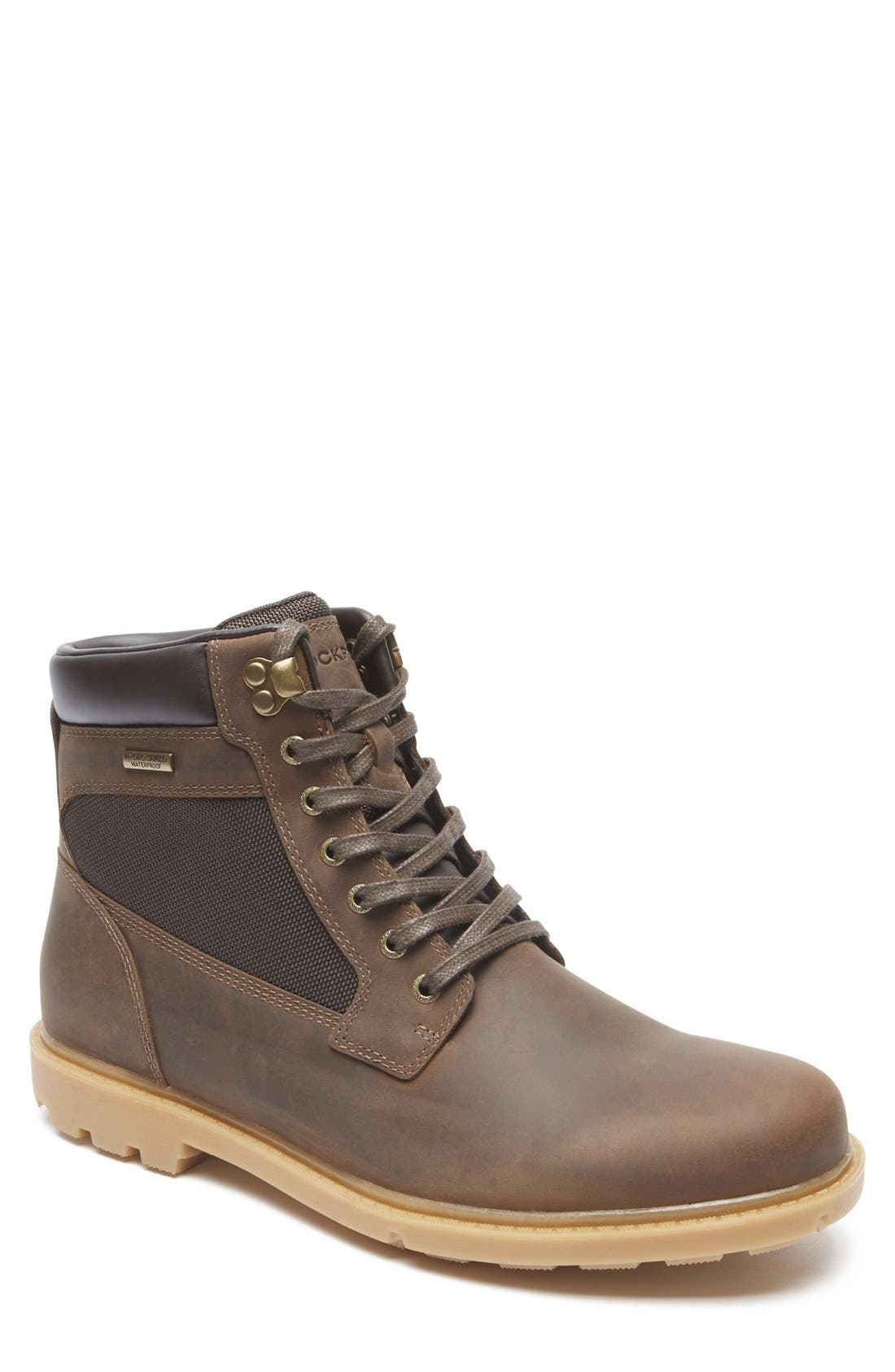 Rockport 'Rugged Bucks High' Waterproof Boot (Men)