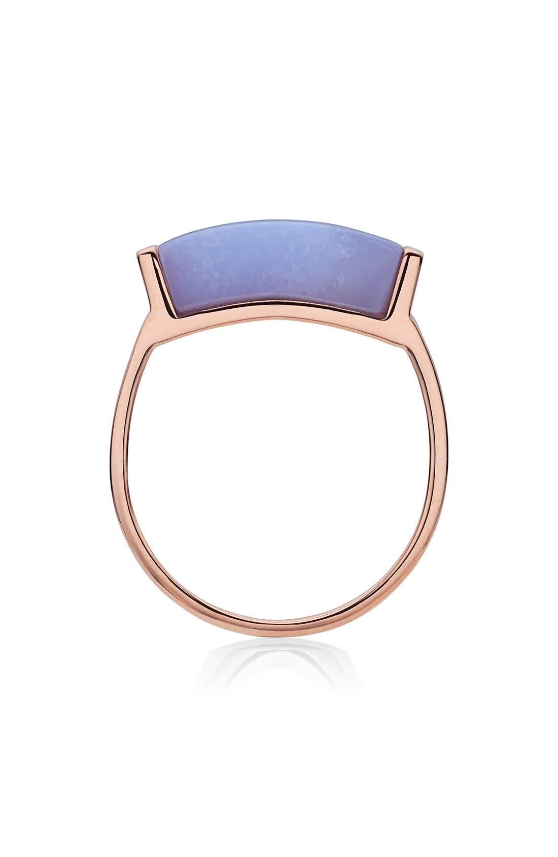 Alternate Image 2  - Monica Vinader Linear Stone Ring