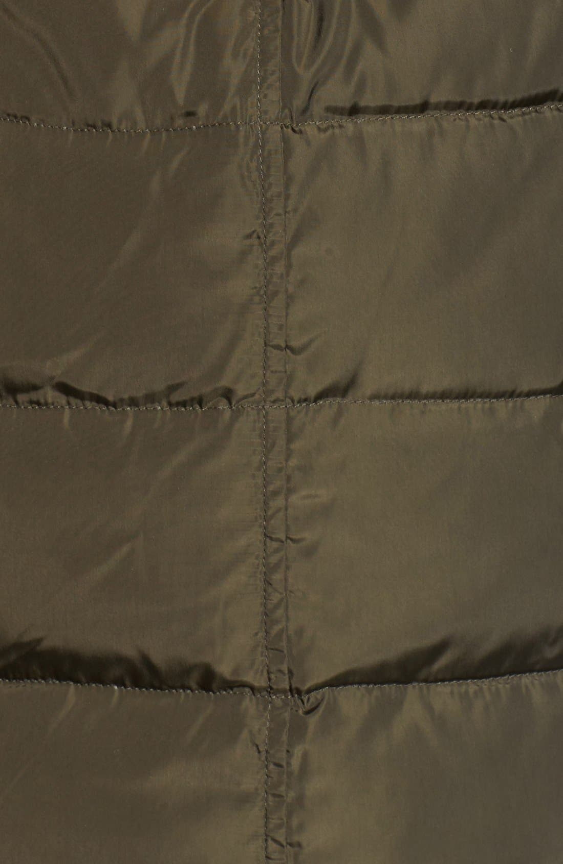 Alternate Image 5  - MICHAEL Michael Kors Faux Fur Trim Belted Down & Feather Fill Coat