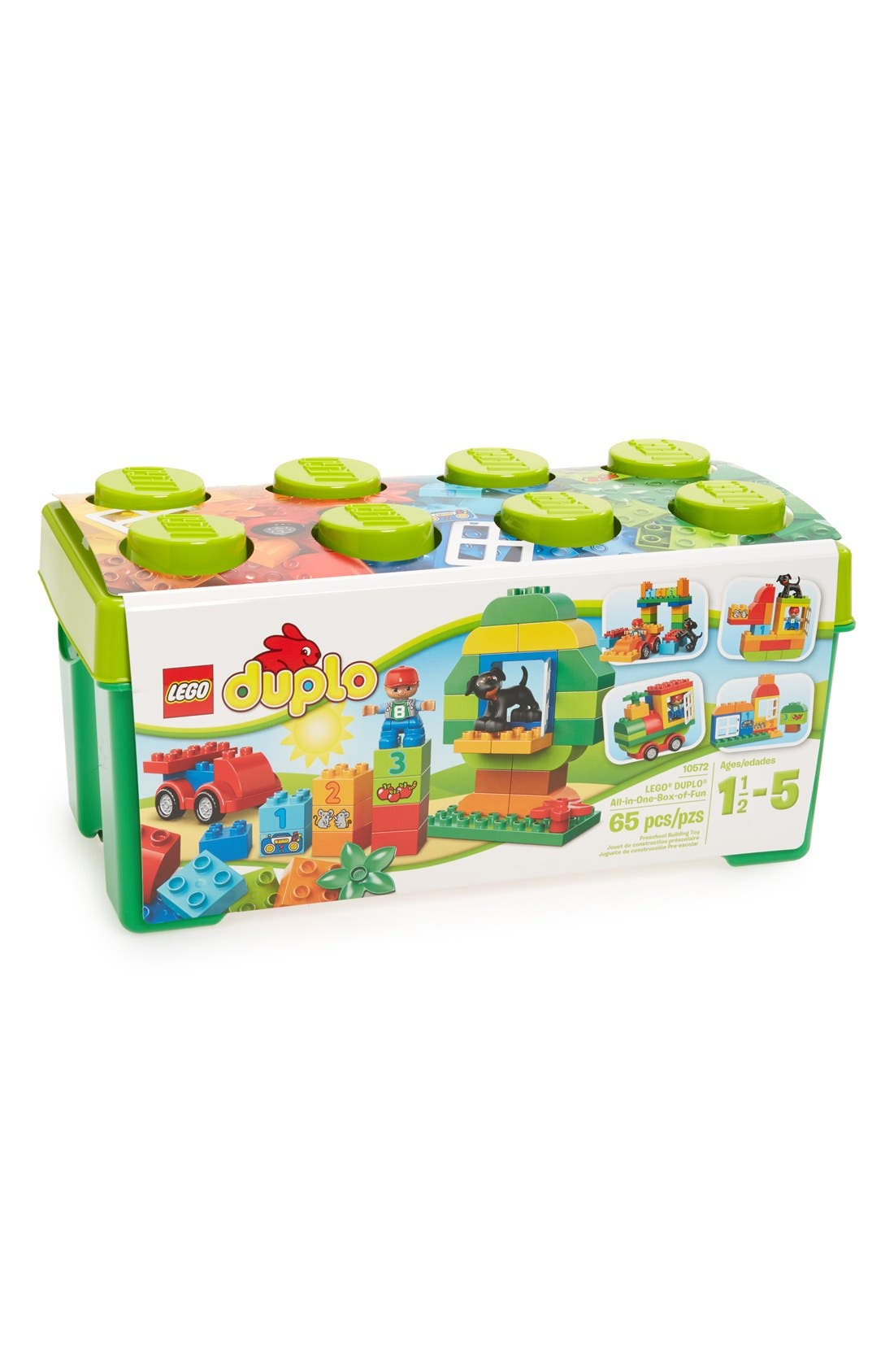 Alternate Image 1 Selected - LEGO® DUPLO® All-in-One Box of Fun - 10572