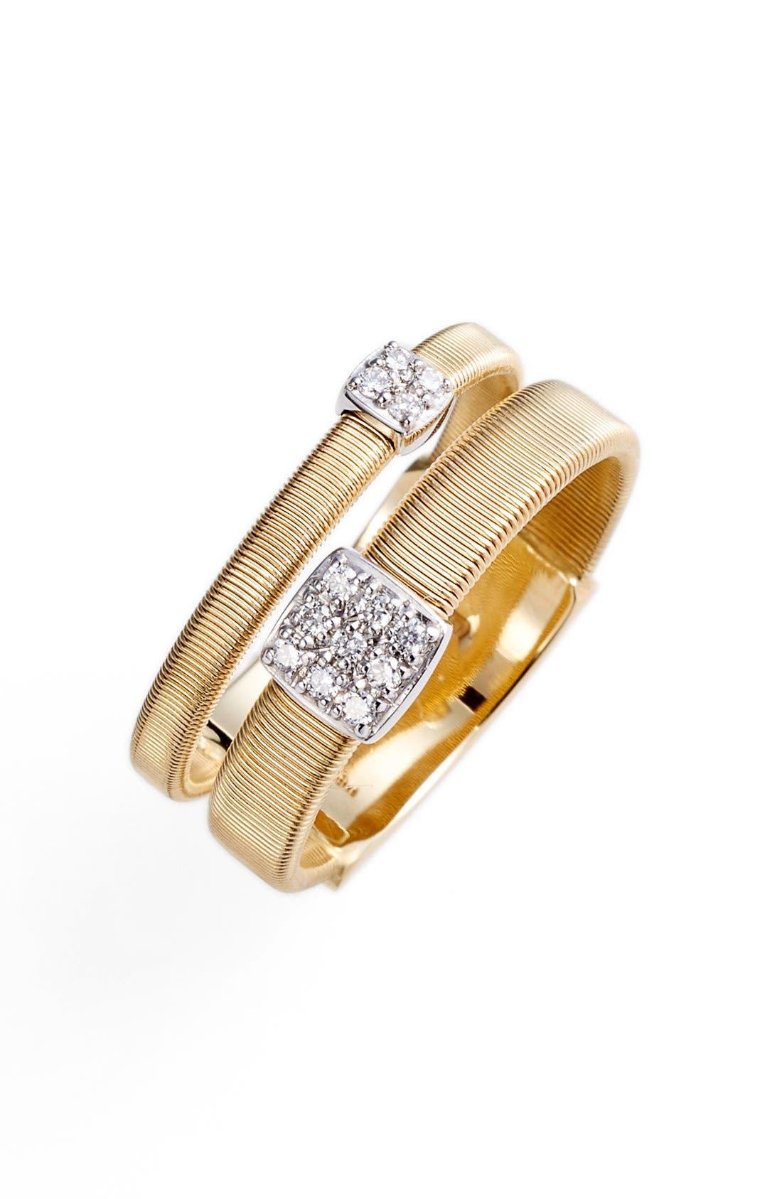 Masai Two Strand Diamond Ring,                         Main,                         color, Yellow Gold