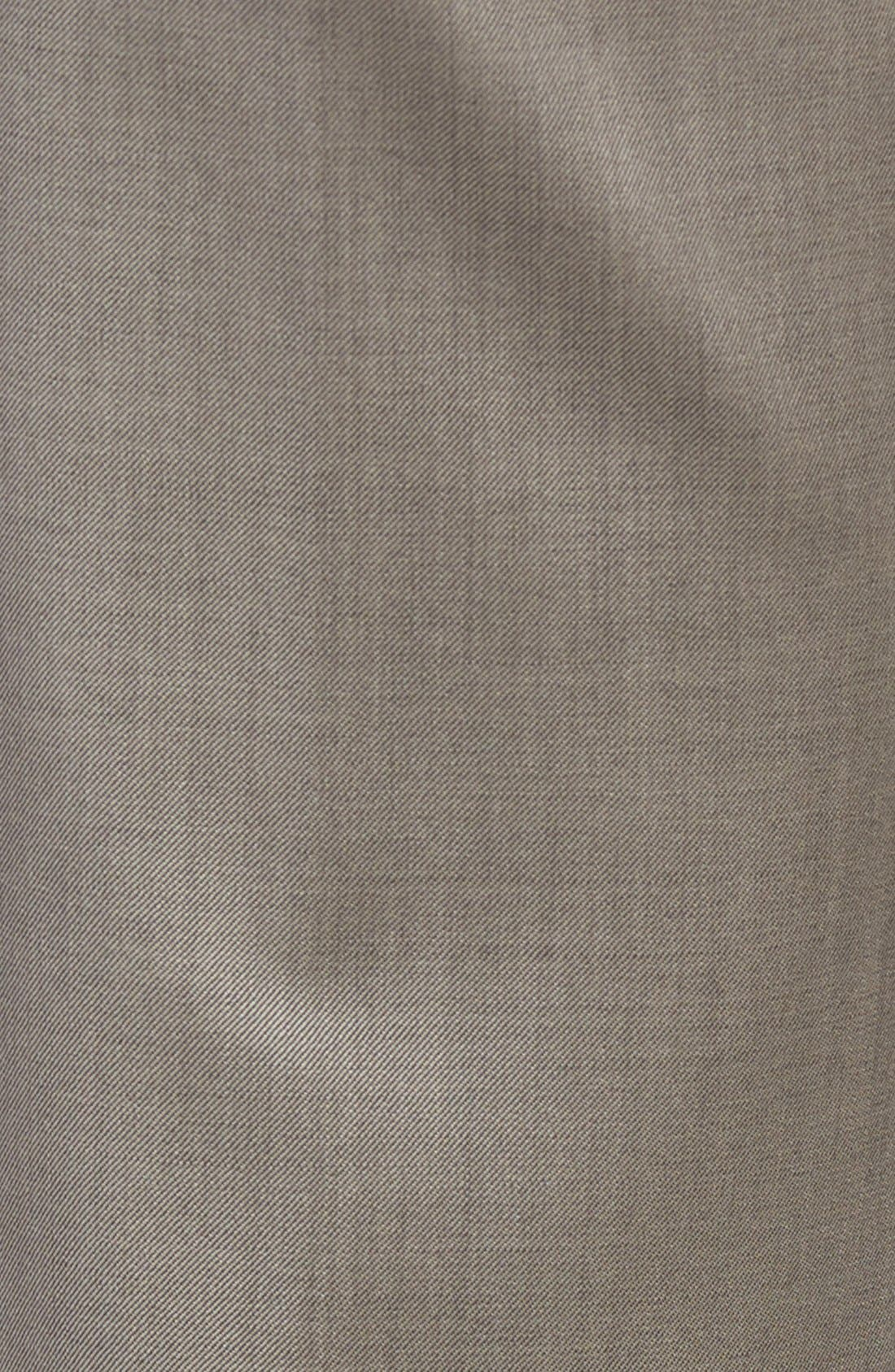 Alternate Image 5  - JB Britches Flat Front Worsted Wool Trousers