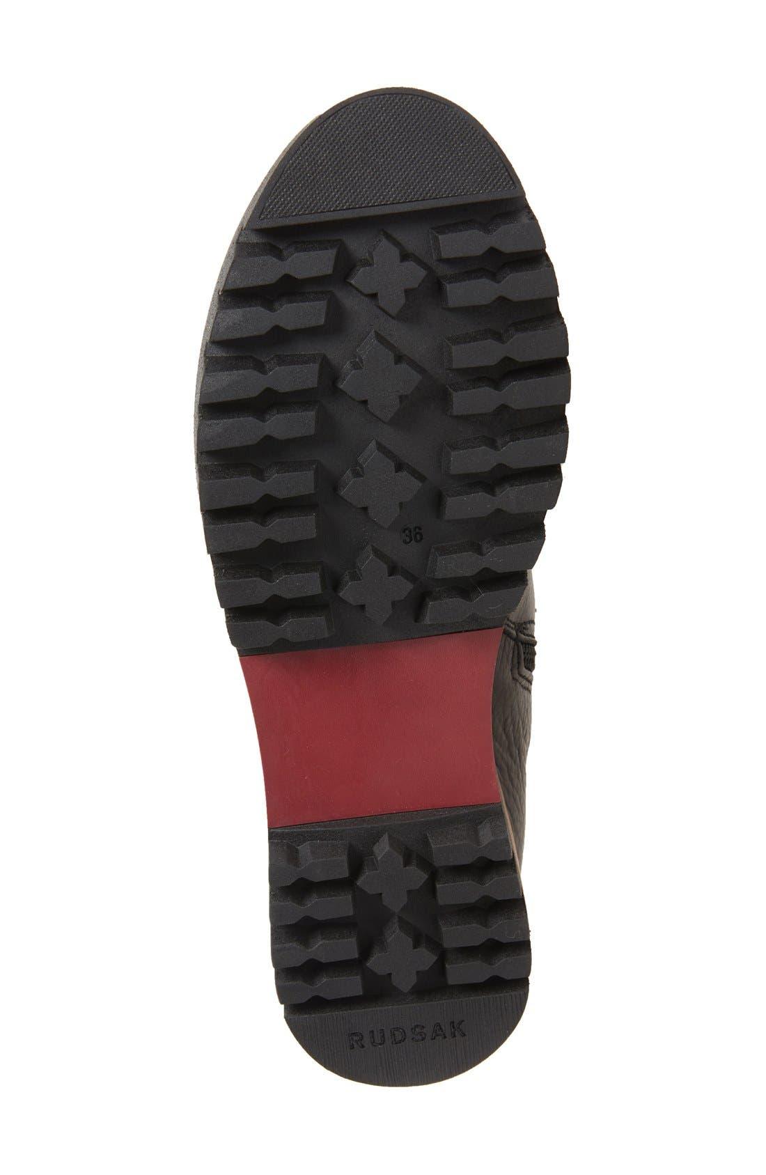 Alternate Image 4  - Rudsack Baddow Genuine Rabbit Fur Trim Winter Boot (Women)