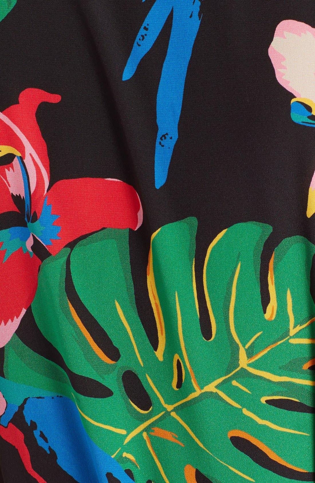 Alternate Image 3  - Valentino Tropical Dream Print Silk Dress