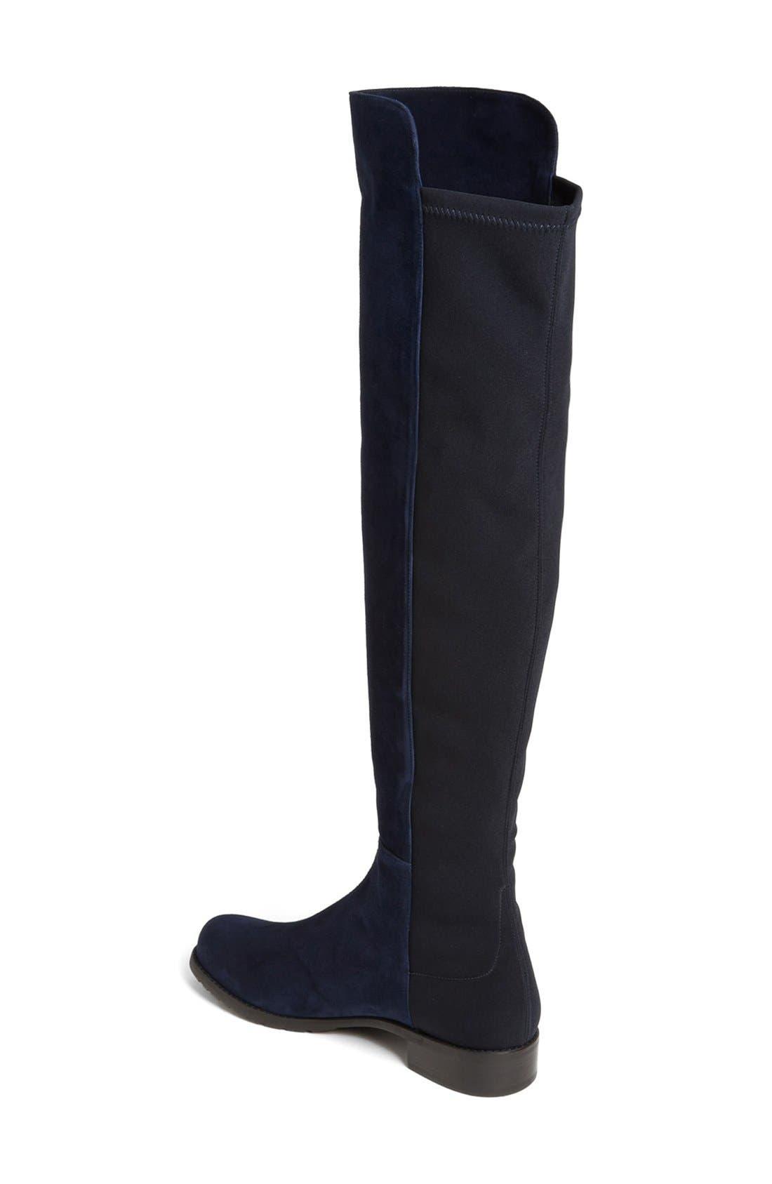 Alternate Image 2  - Stuart Weitzman 5050 Over the Knee Leather Boot (Women)