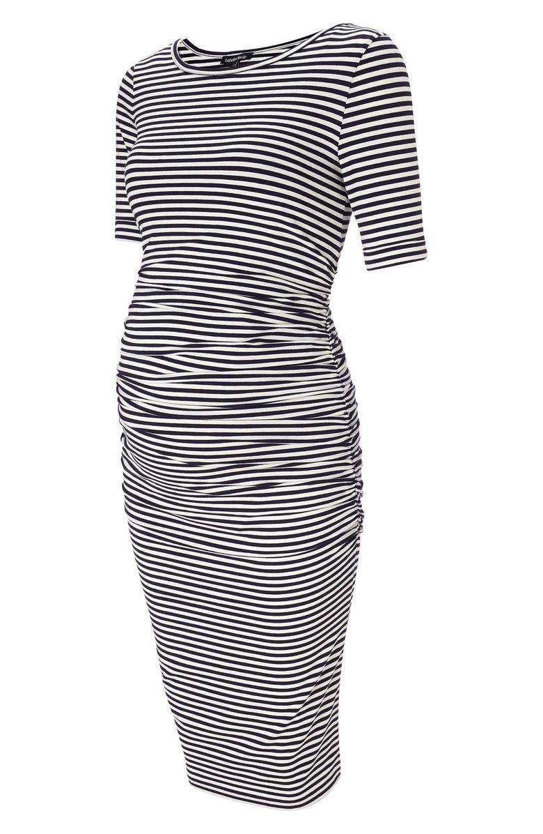 Arlington Stripe Maternity Dress