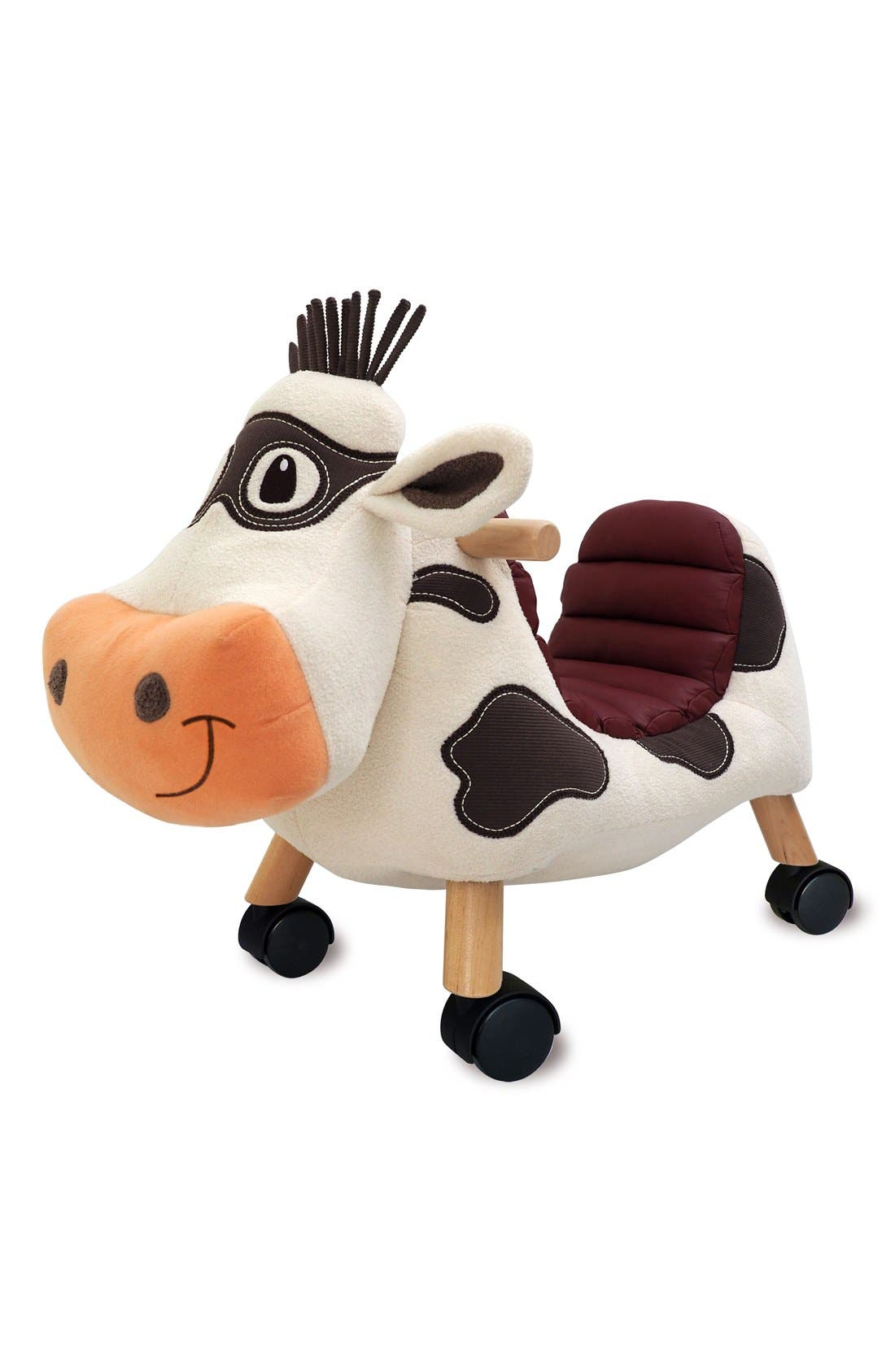 Moobert Ride-On Toy,                         Main,                         color, Brown