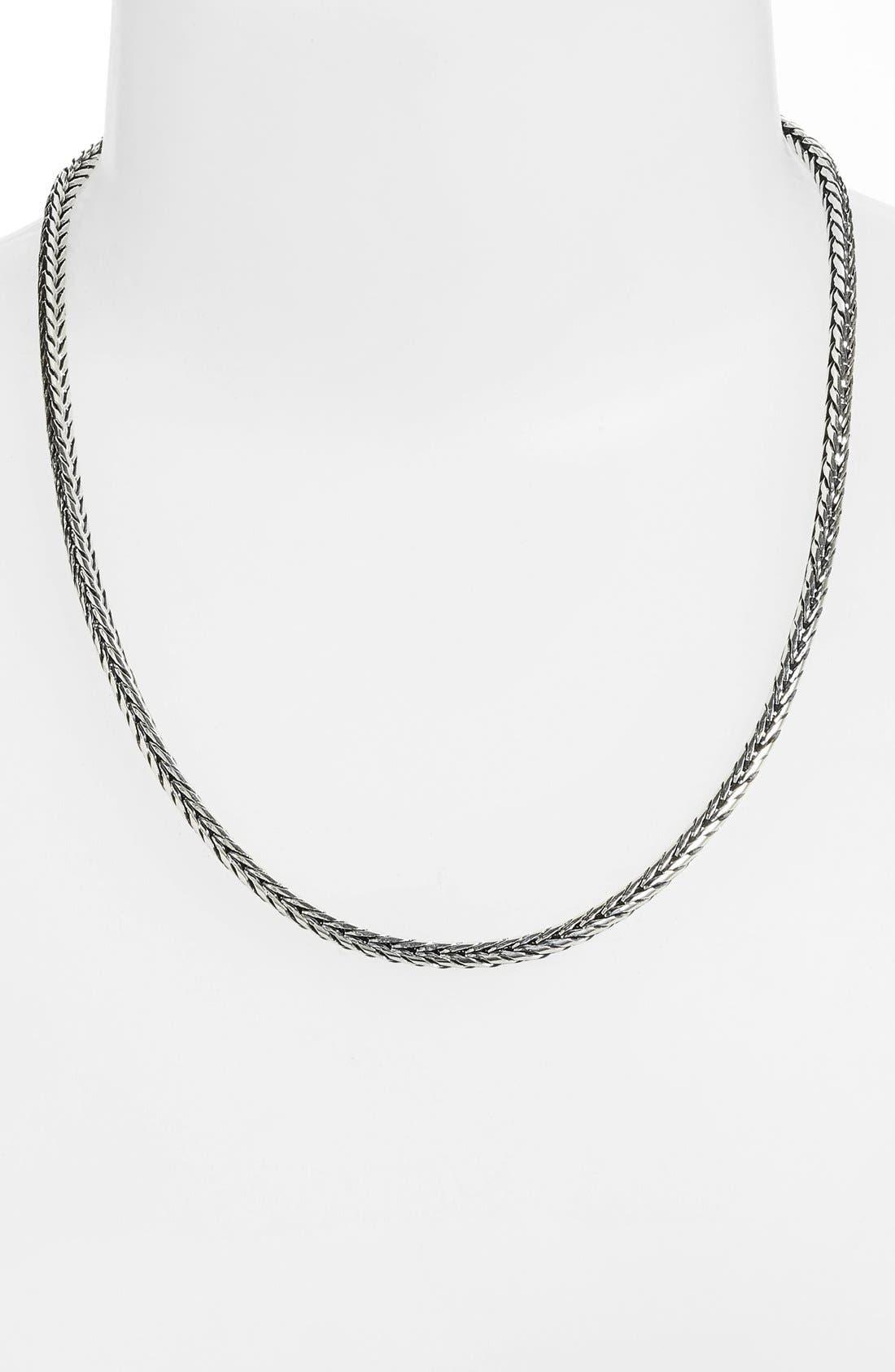 Sterling Silver Chain,                         Main,                         color, Silver