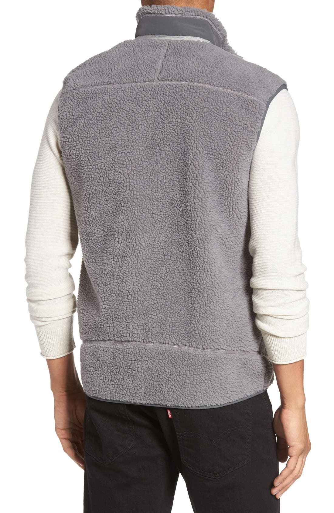Classic Retro-X<sup>®</sup> Waterproof Vest,                             Alternate thumbnail 2, color,                             Feather Grey