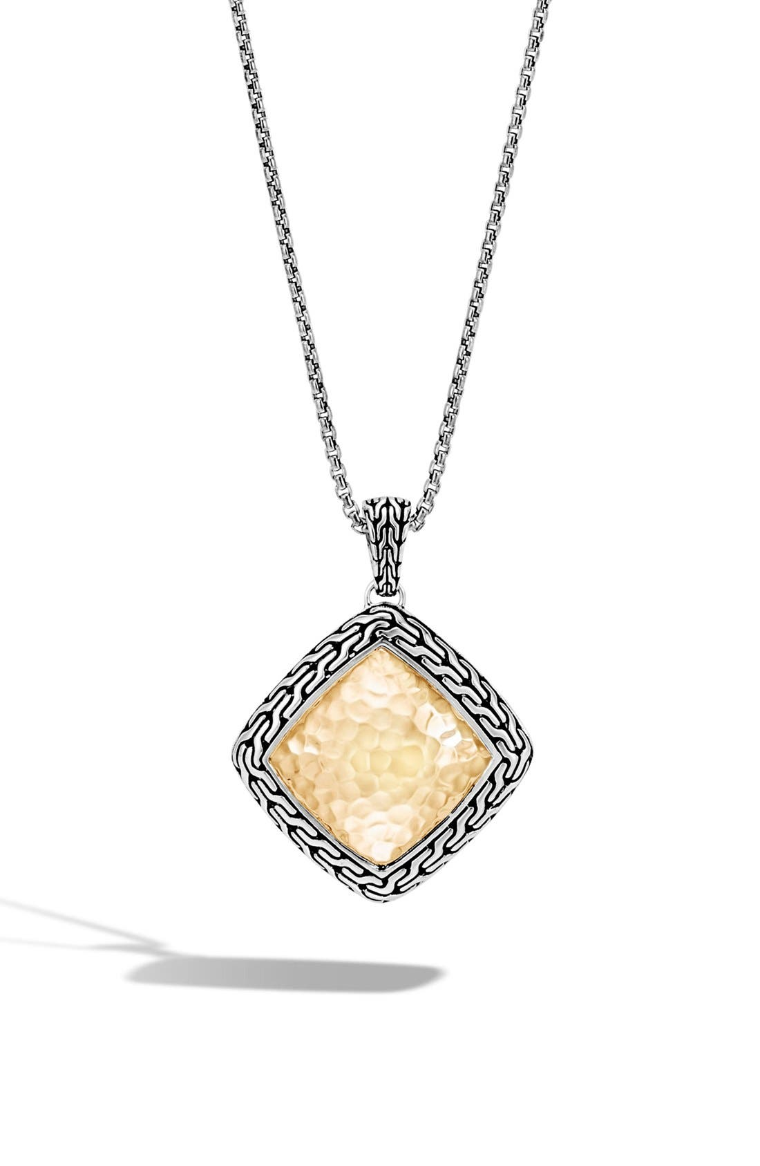 Alternate Image 1 Selected - John Hardy Heritage Quadrangle Pendant Necklcace