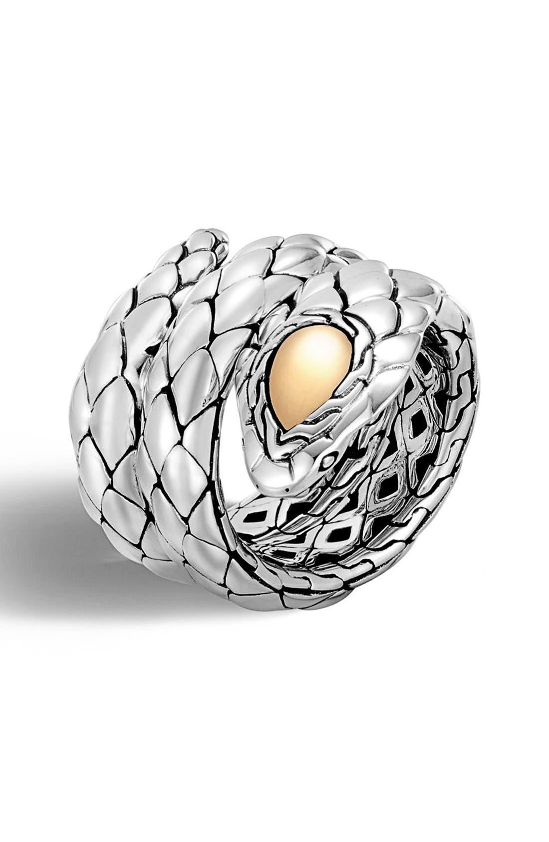JOHN HARDY Legends Cobra Double Coil Ring