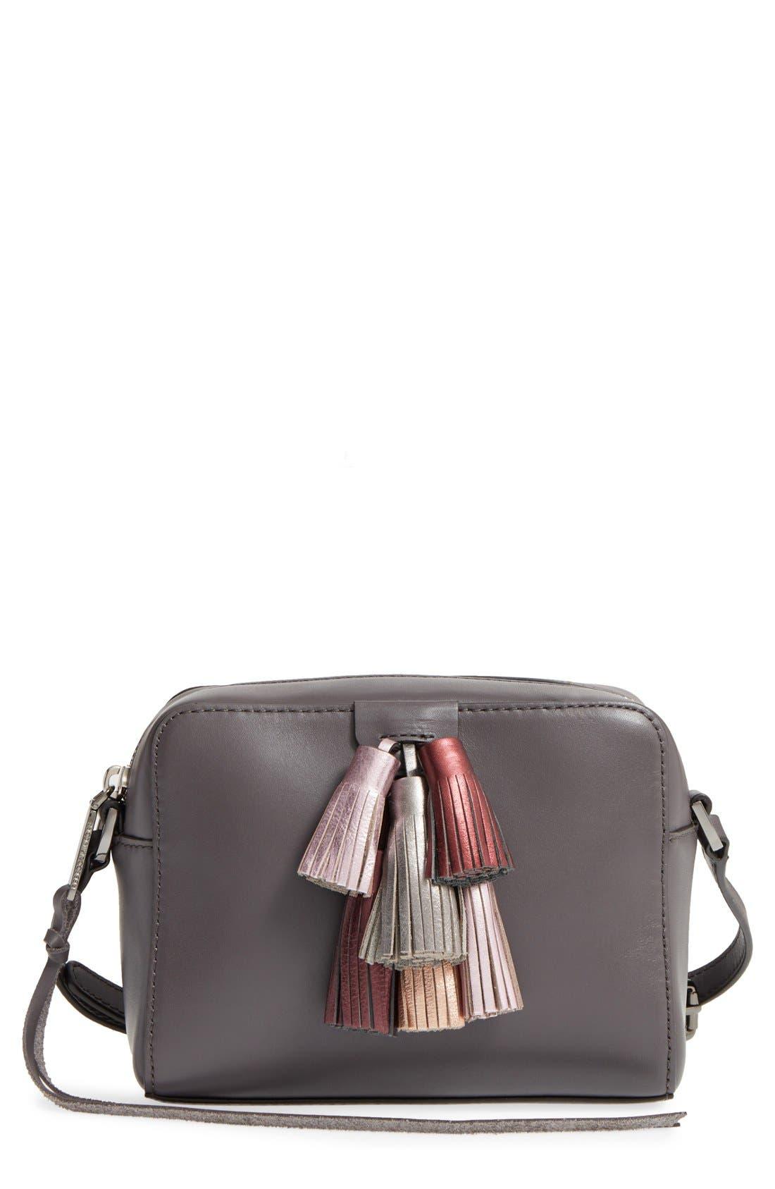 Alternate Image 1 Selected - Rebecca Minkoff Mini Sofia Leather Crossbody Bag