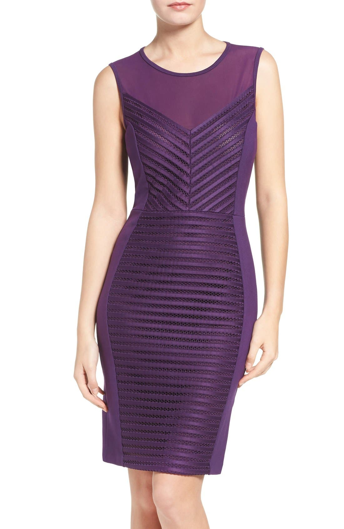 Alternate Image 1 Selected - French Connection Score Stretchy Sheath Dress
