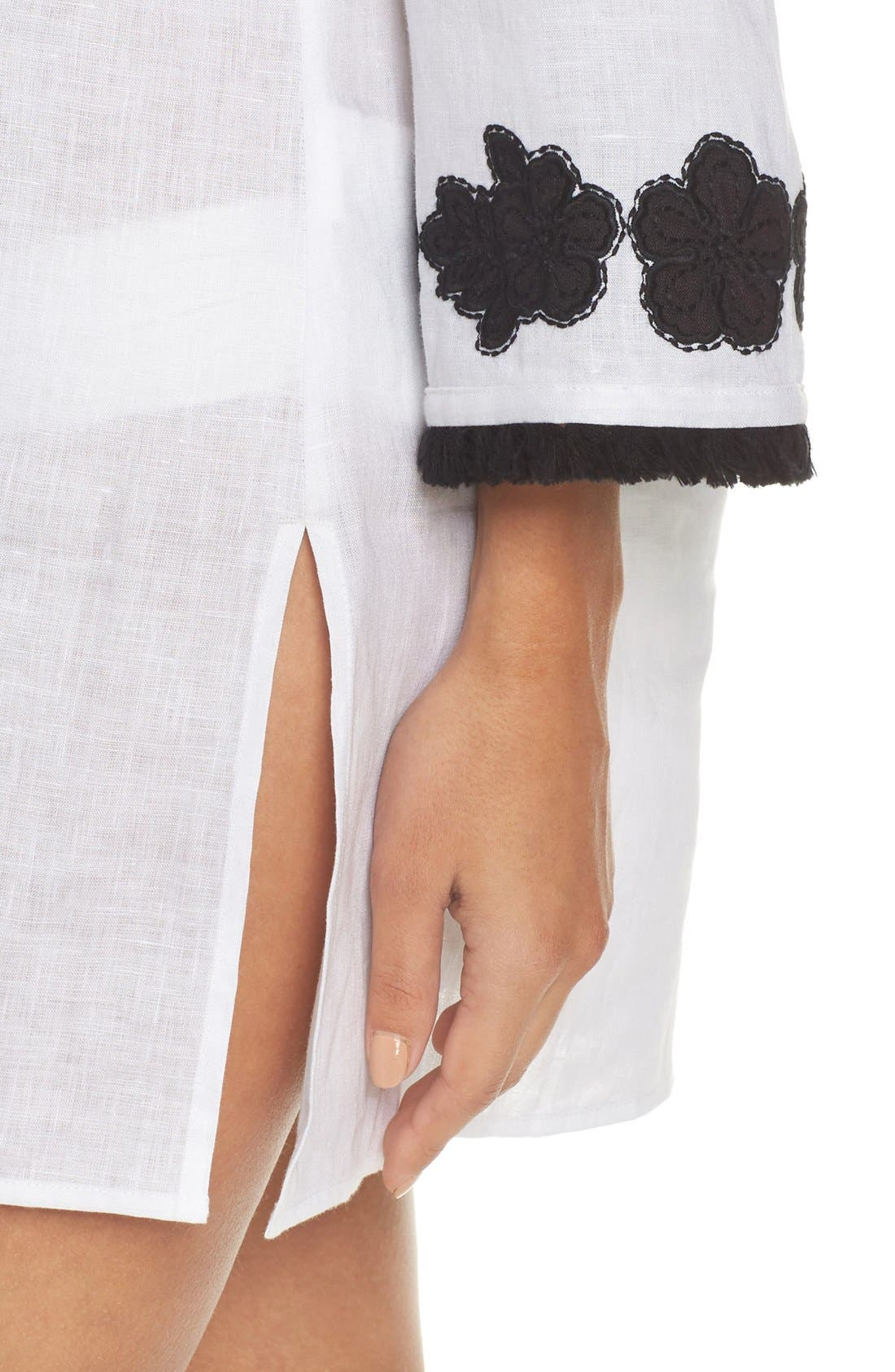 Alternate Image 4  - Tory Burch Appliqué Cover-Up Tunic