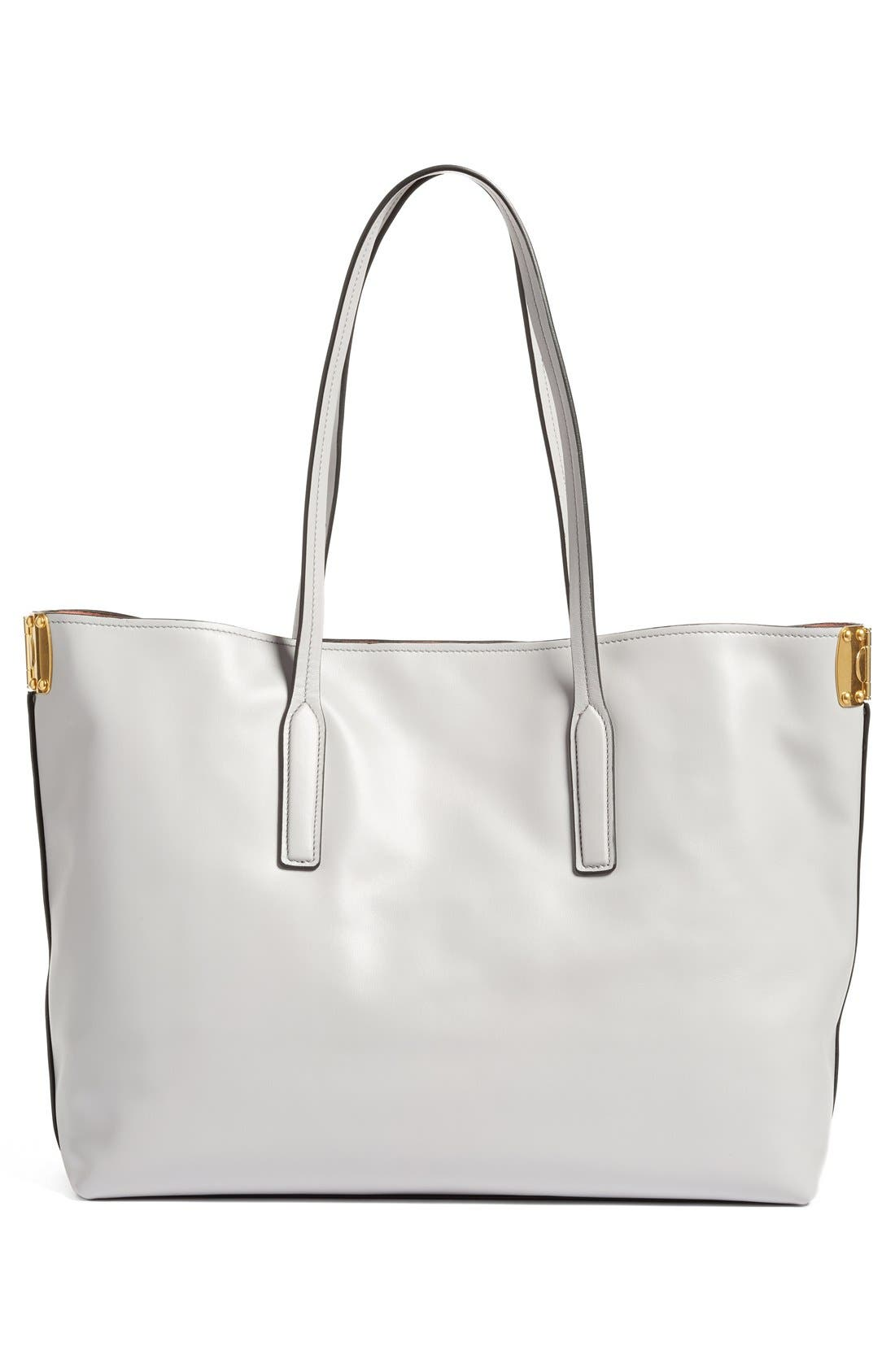 Alternate Image 3  - Miu Miu Large Calfskin Leather Shopper