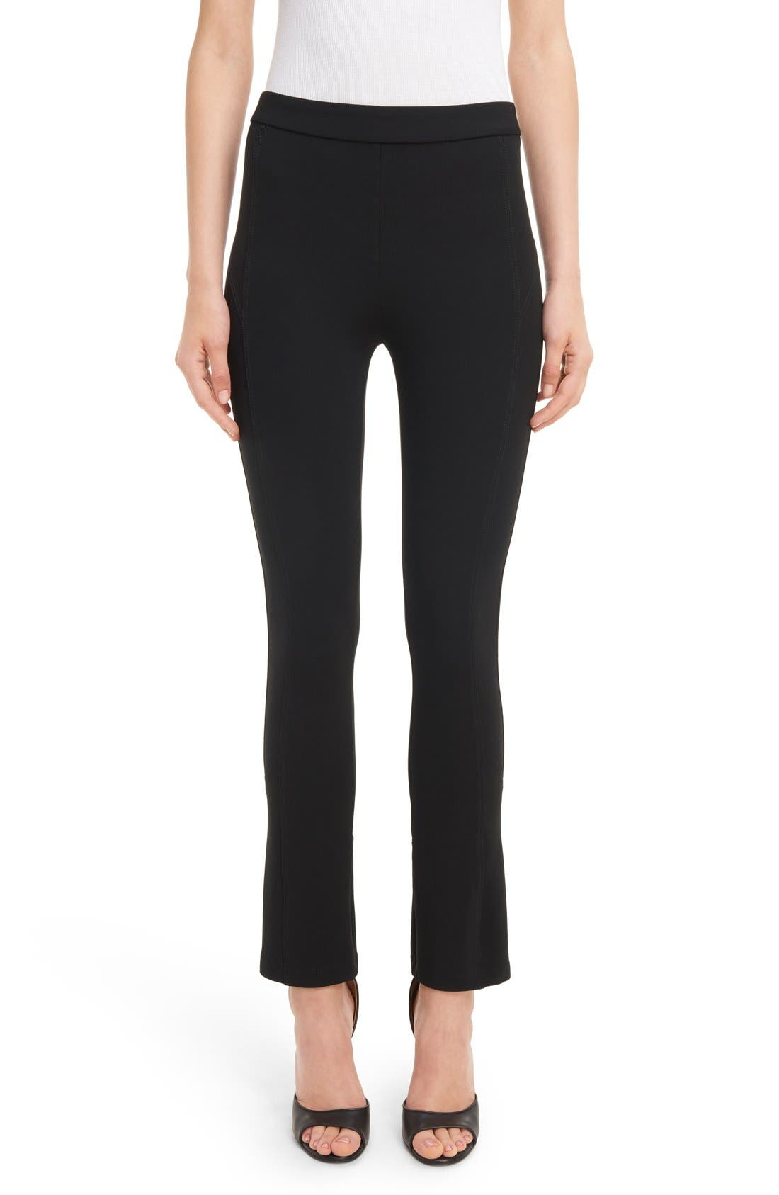 Alternate Image 1 Selected - Givenchy Crop Flare Leggings