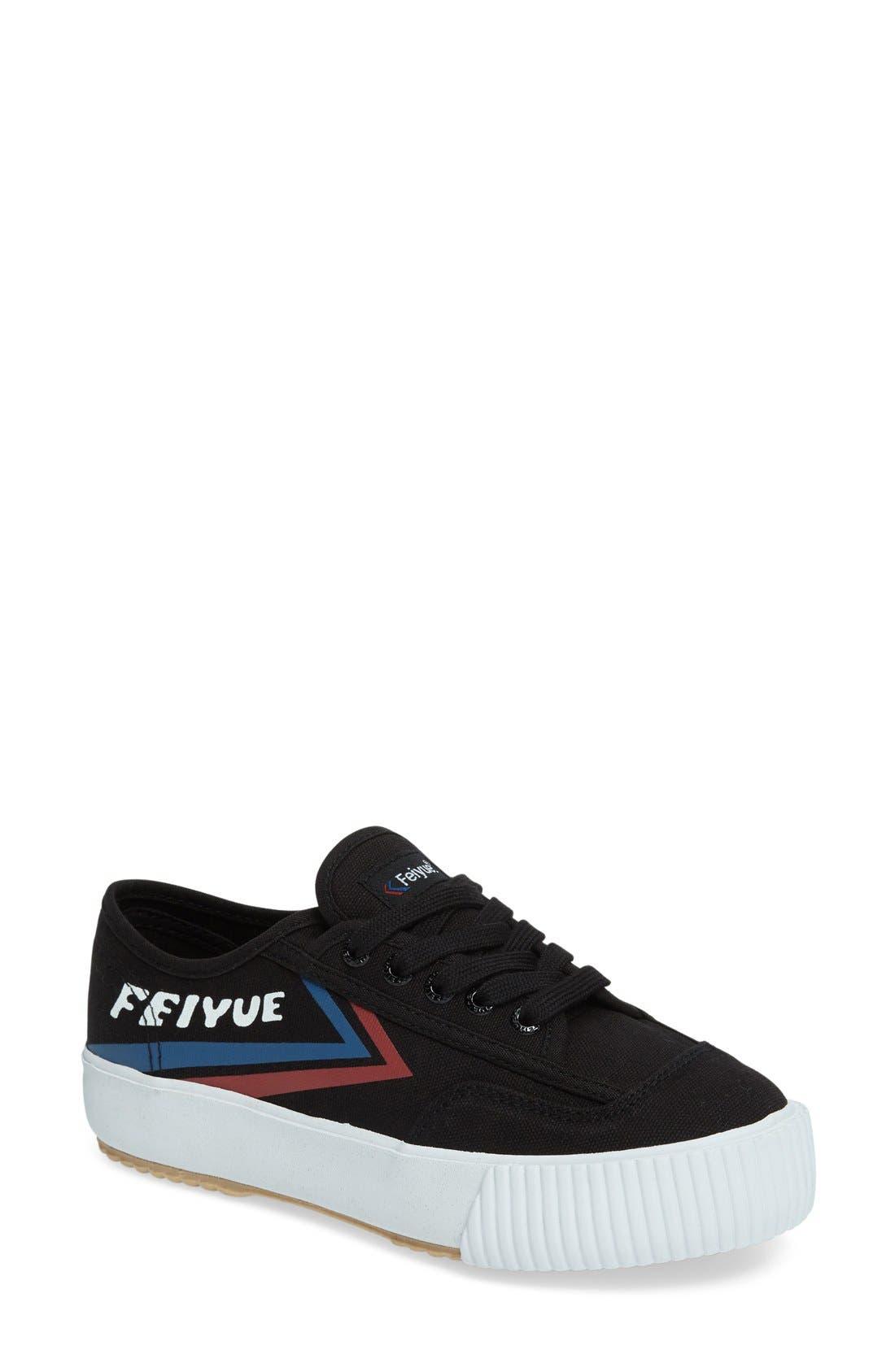 Main Image - Feiyue. 'Fe Lo Platform' Canvas Sneaker (Women)