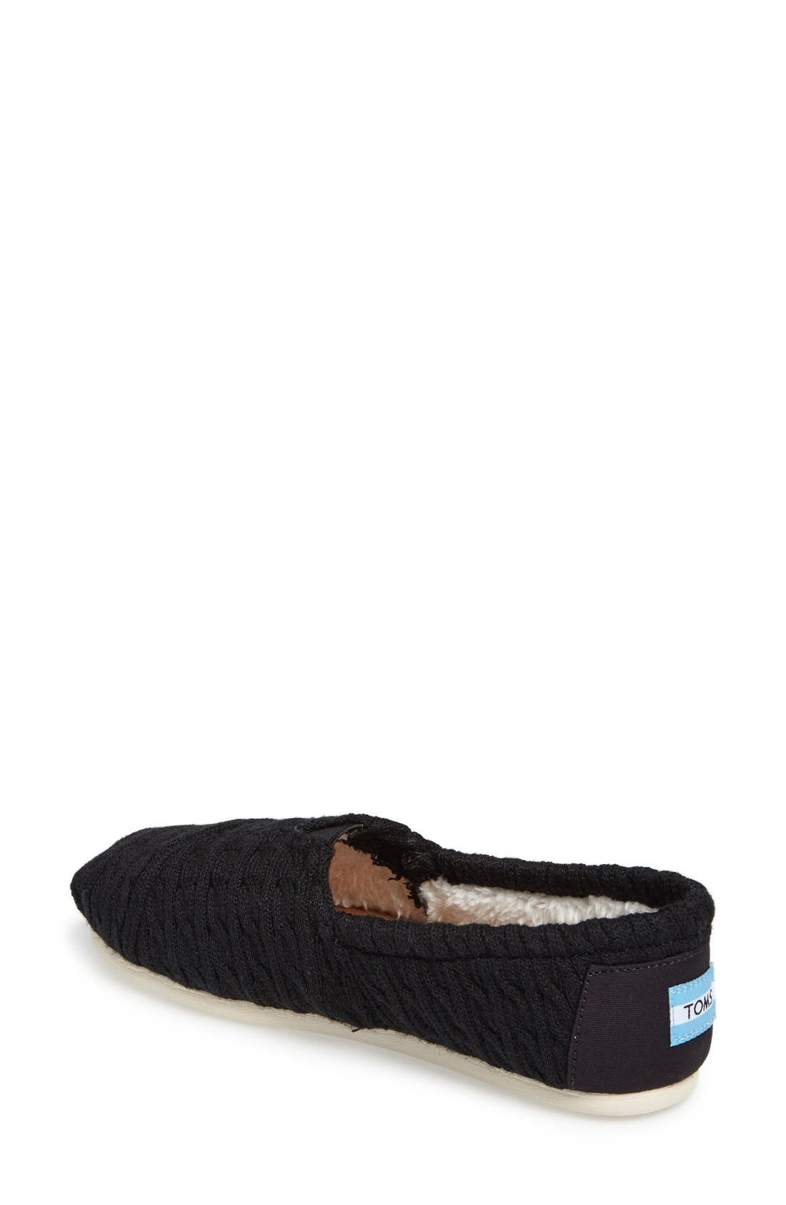 Alternate Image 2  - TOMS 'Classic Knit' Slip-On (Women)