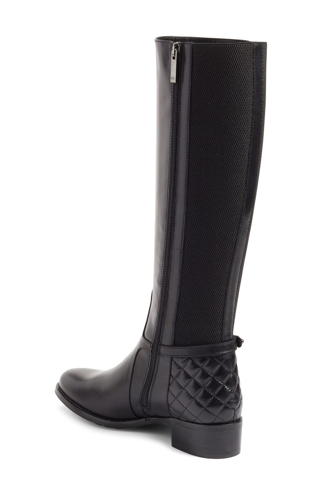 Alternate Image 2  - Aquatalia Oksana Weatherproof Riding Boot (Women)
