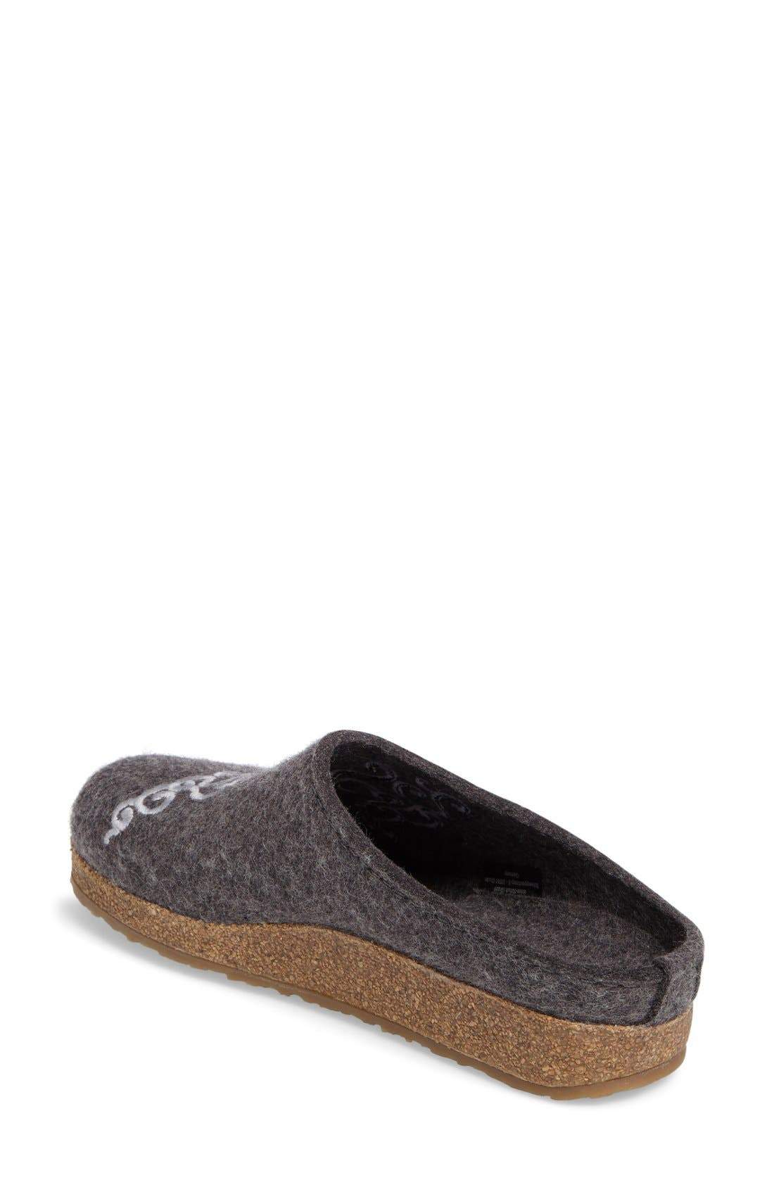 Alternate Image 2  - Haflinger Symphony Slipper (Women)