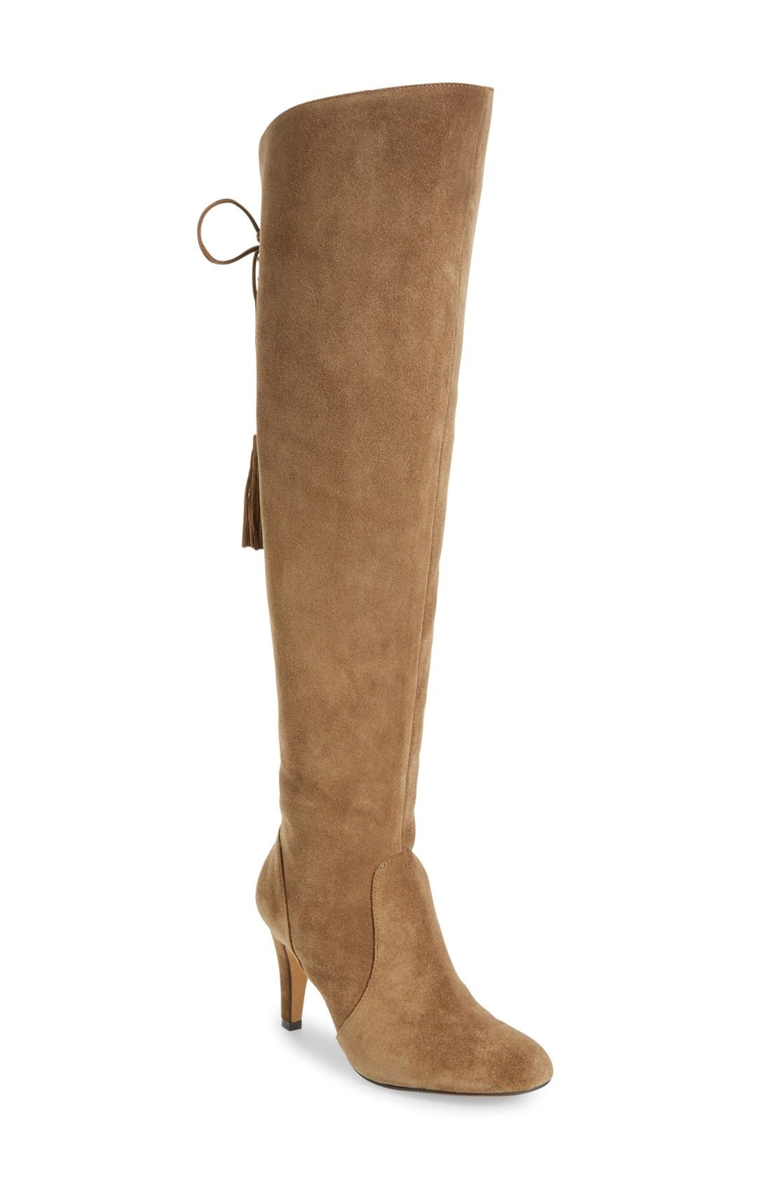 Alternate Image 1 Selected - Vince Camuto Cherline Over the Knee Boot (Women)