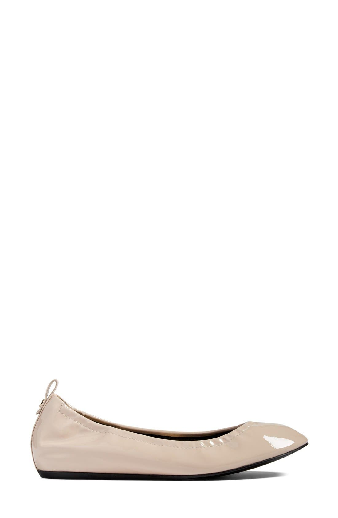 Alternate Image 4  - Lanvin Smooth Leather Ballet Flat (Women)