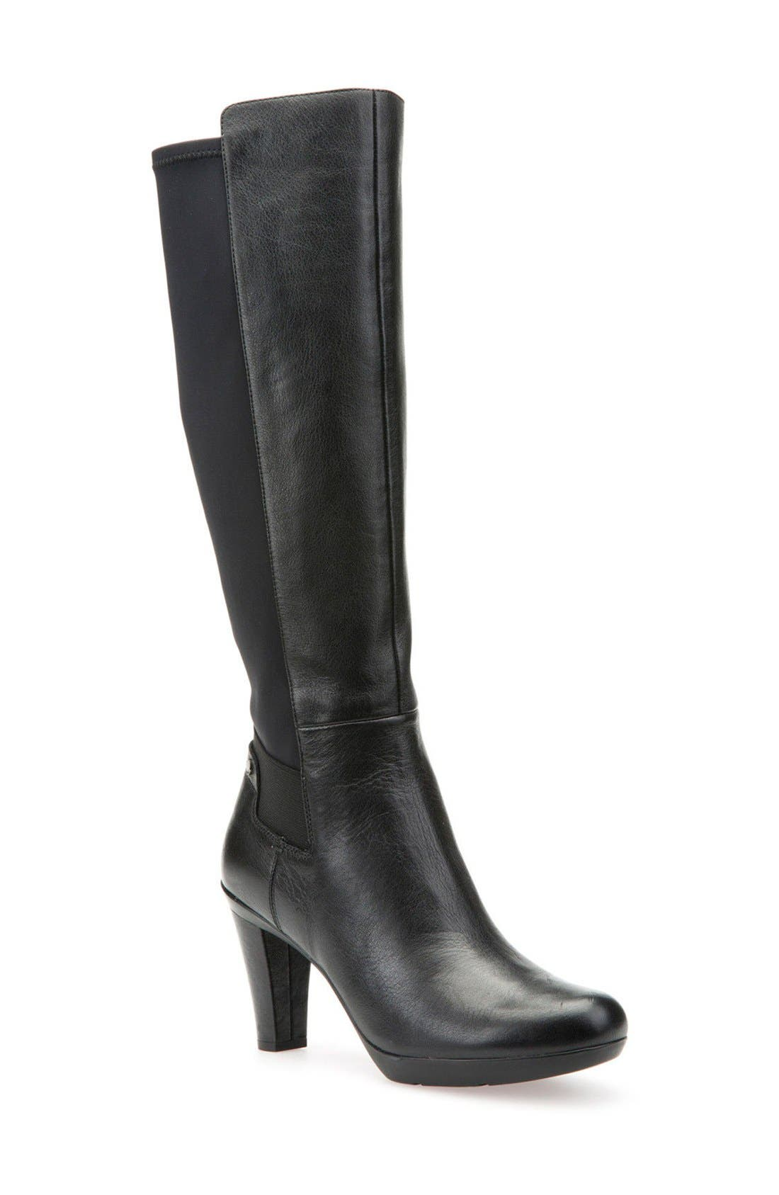 Geox Inspirations 19 Tall Boot (Women) (Narrow Calf)