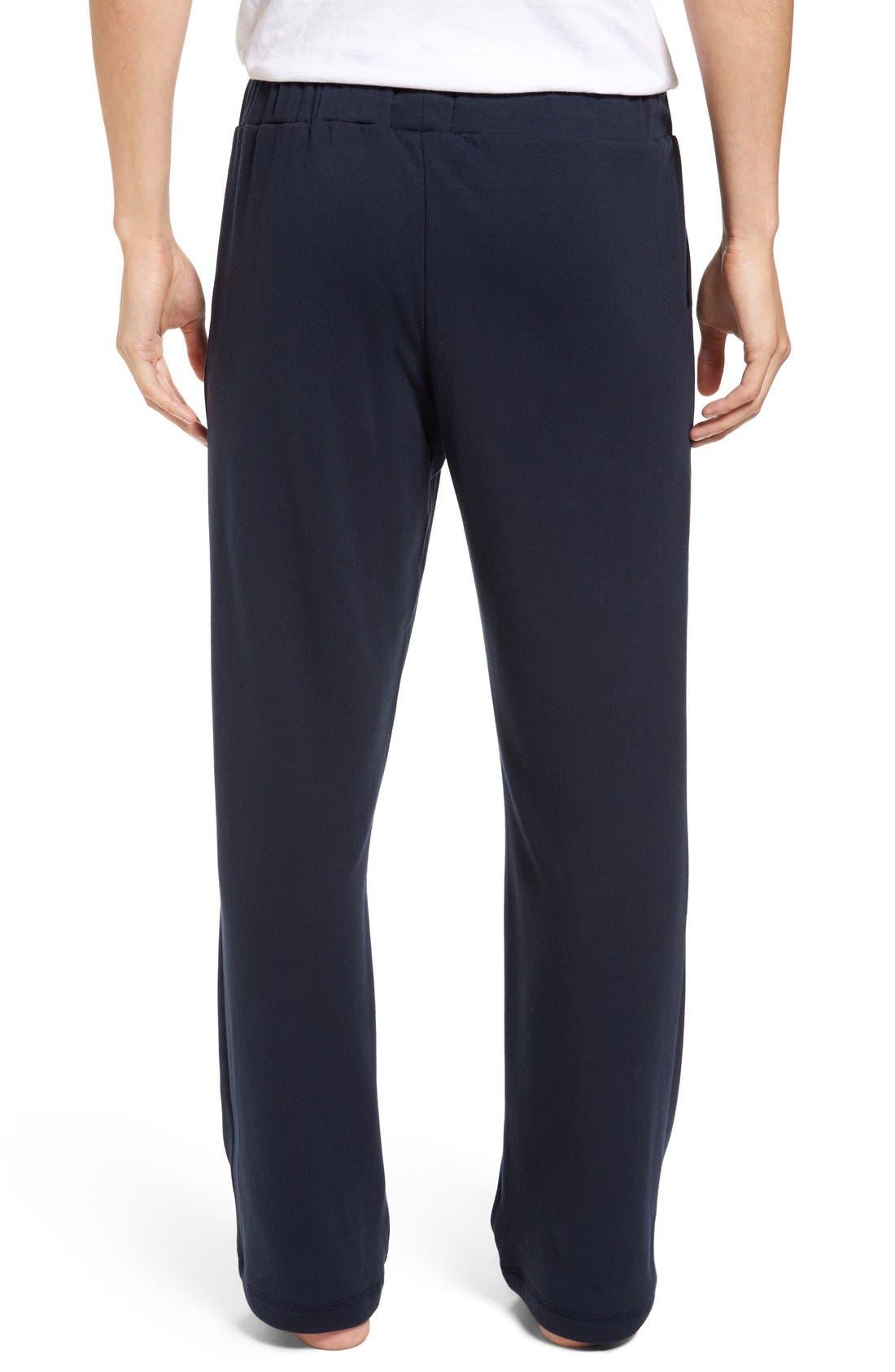 Alternate Image 2  - Nordstrom Men's Shop Fleece Lounge Pants