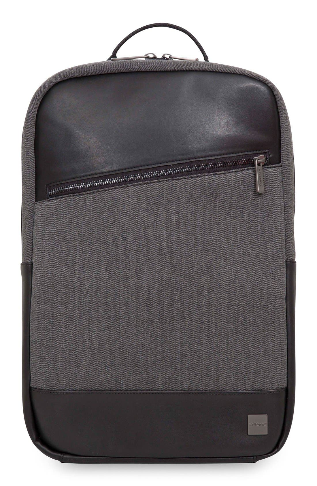 Holborn Southampton Backpack,                             Main thumbnail 1, color,                             Grey