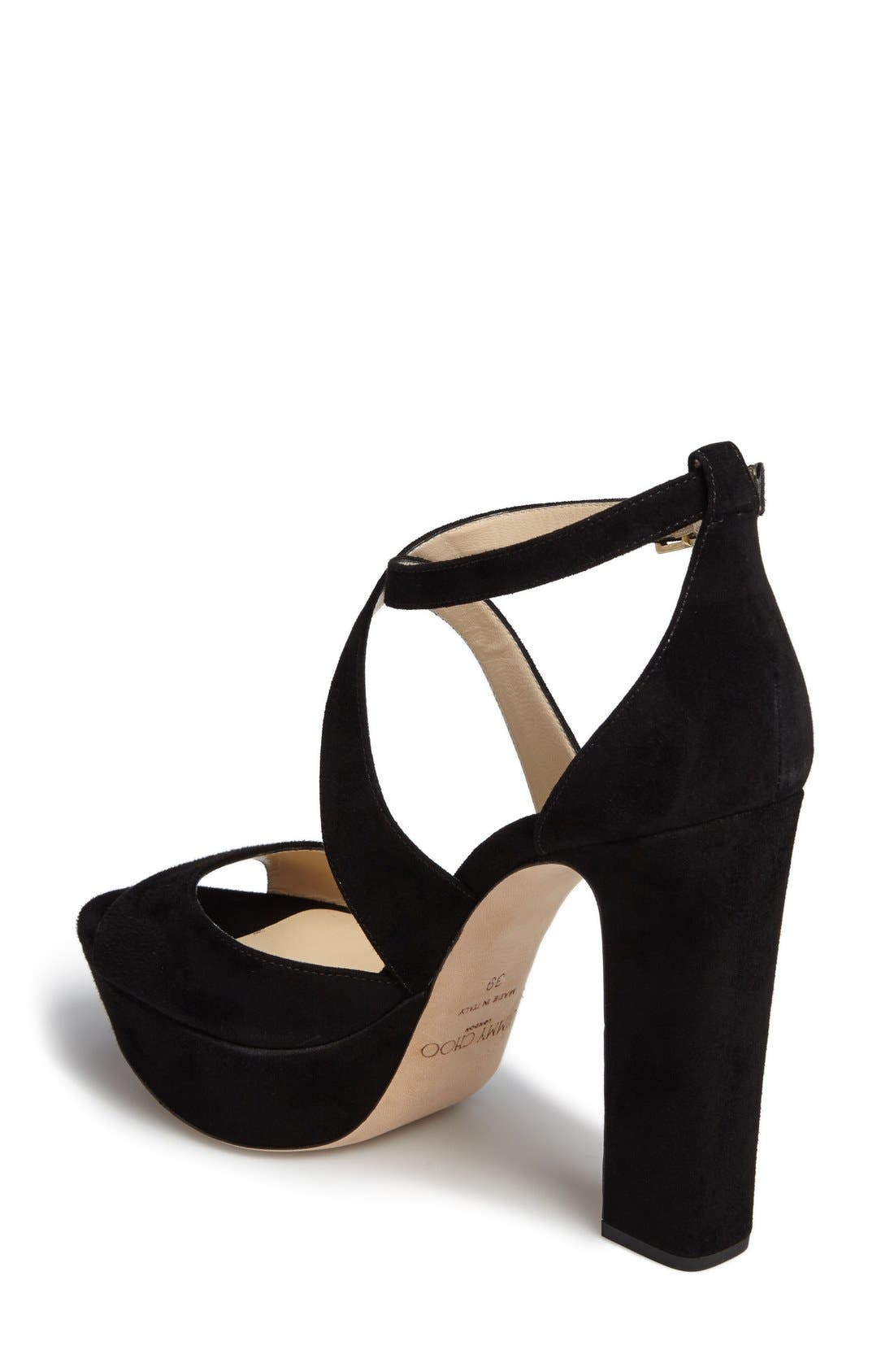 Alternate Image 2  - Jimmy Choo April Platform Sandal (Women)